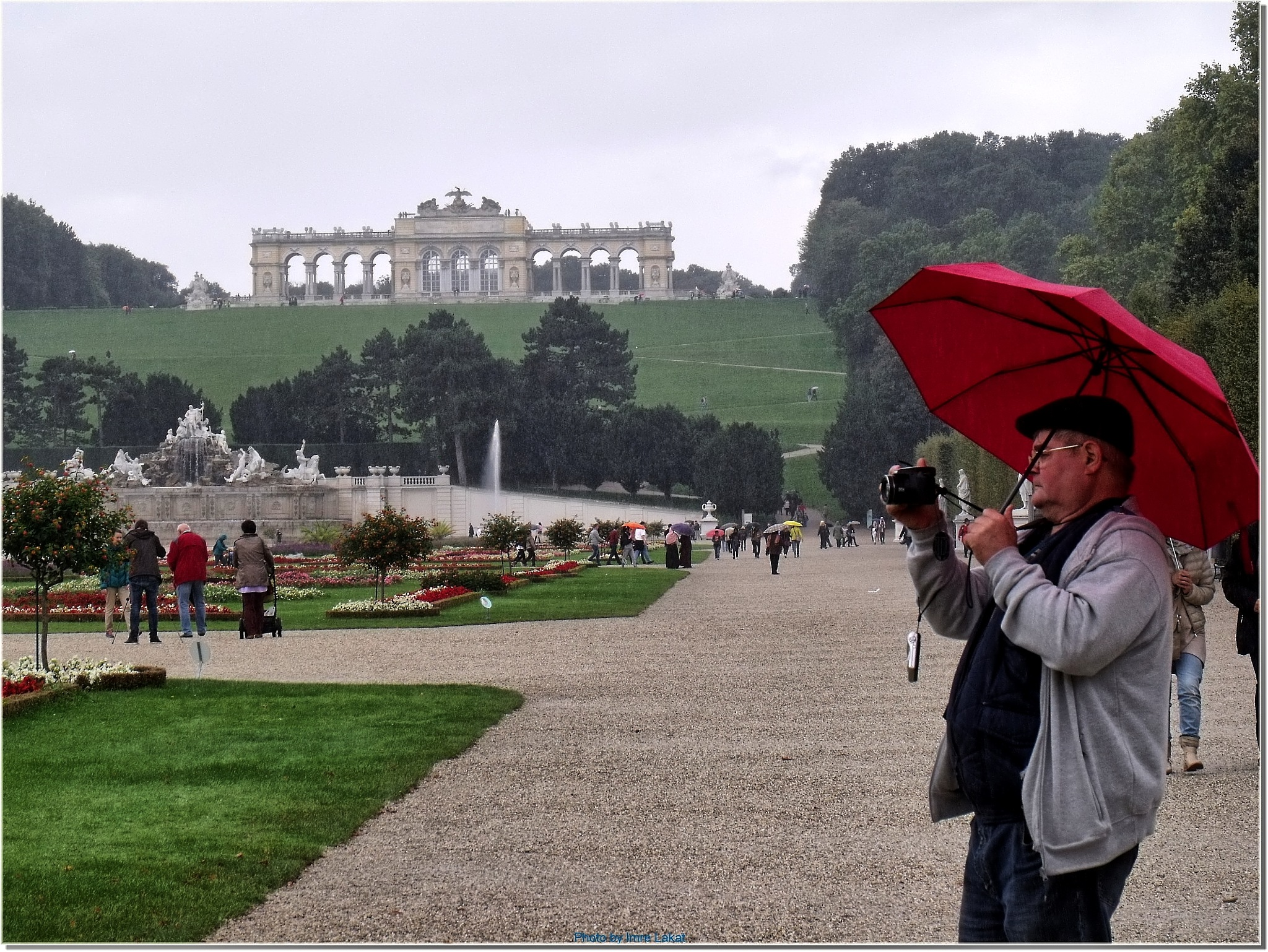 Schoenbrunner Schloss Park, 1130 Vienna, Schönbrunn Palace, Schönbrunner Schloßstraße, Bécs, Ausztri by Imre Lakat