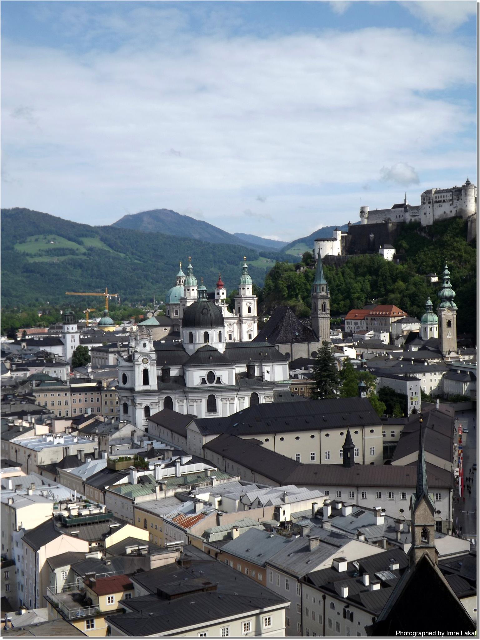Dom zu Salzburg Austria by Imre Lakat