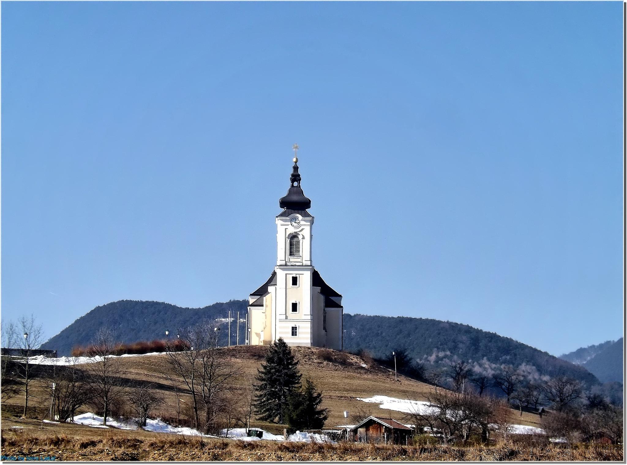 Allerseligste Jungfrau Maria, Höflein an der Hohen Wand, Ausztria ... Puchberger Straße 31, 2732, Au by Imre Lakat