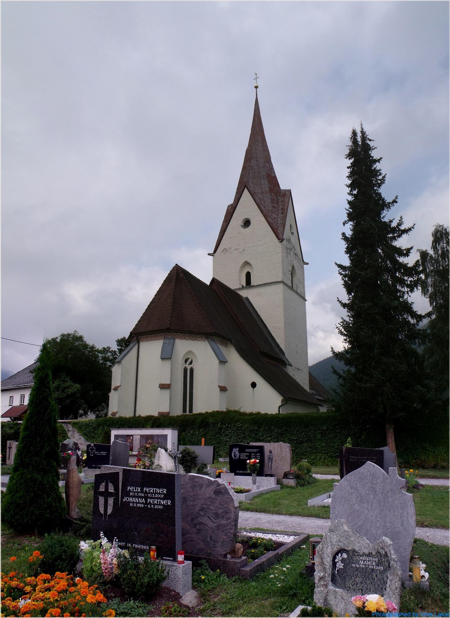 Kirche am Maglern by Imre Lakat
