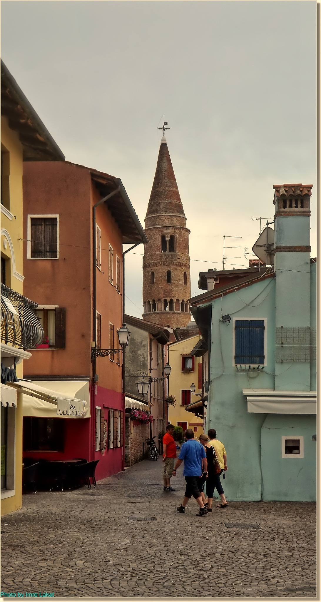 Tower in Caorle by Imre Lakat