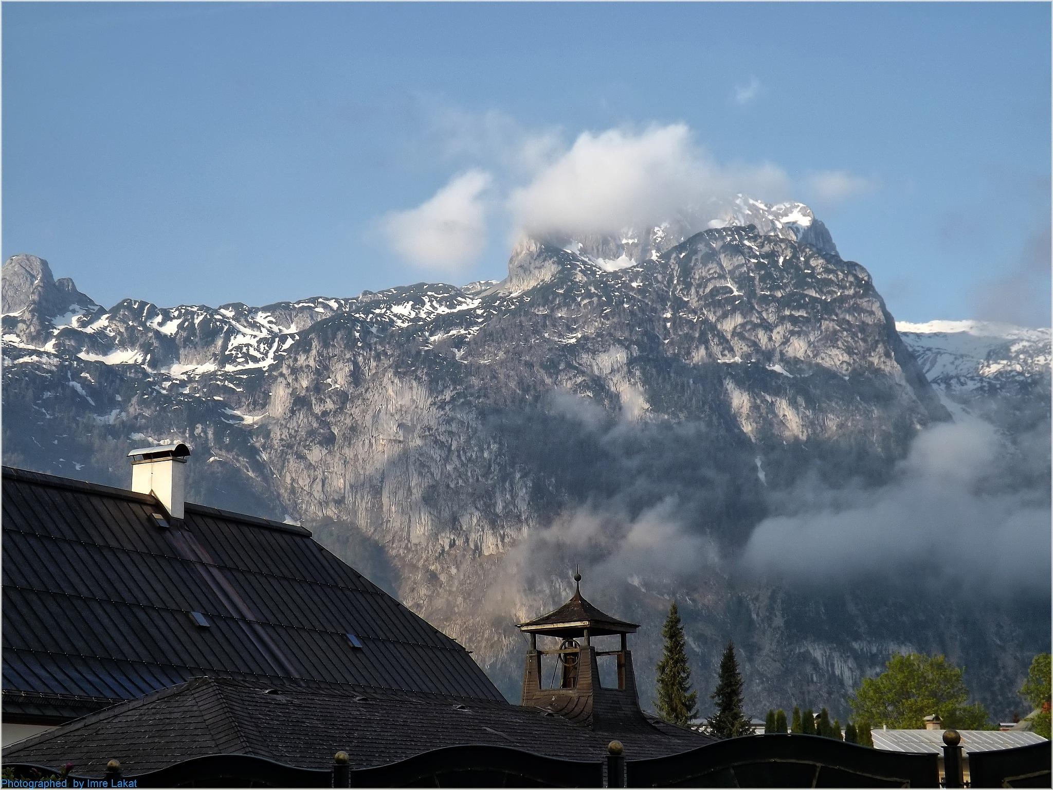 Mountains of Abtenau by Imre Lakat
