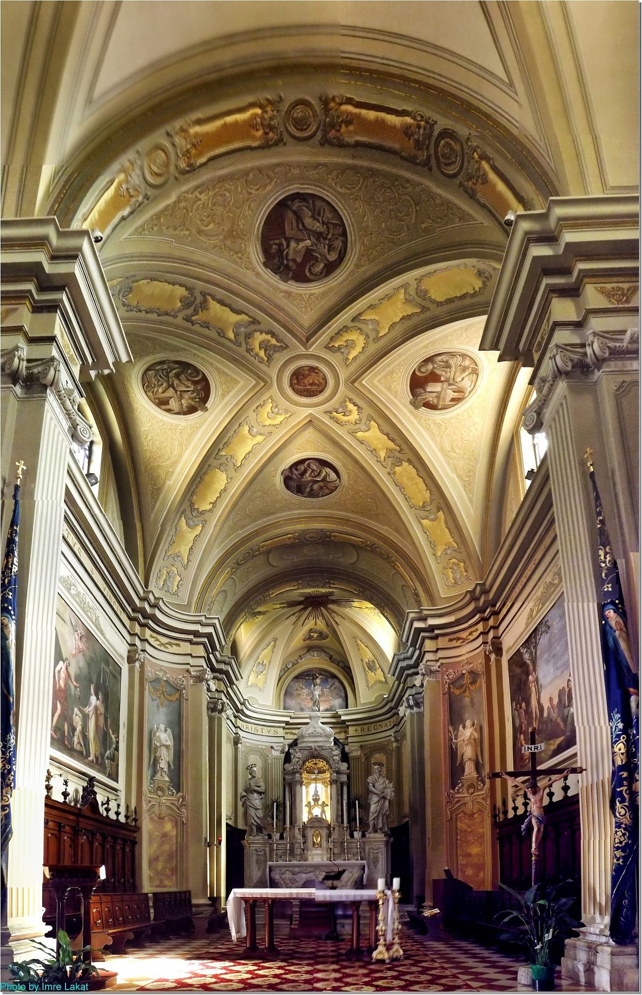 Duomo . Interior . Via Caterina Percoto, 19, Latisana UD, by Imre Lakat