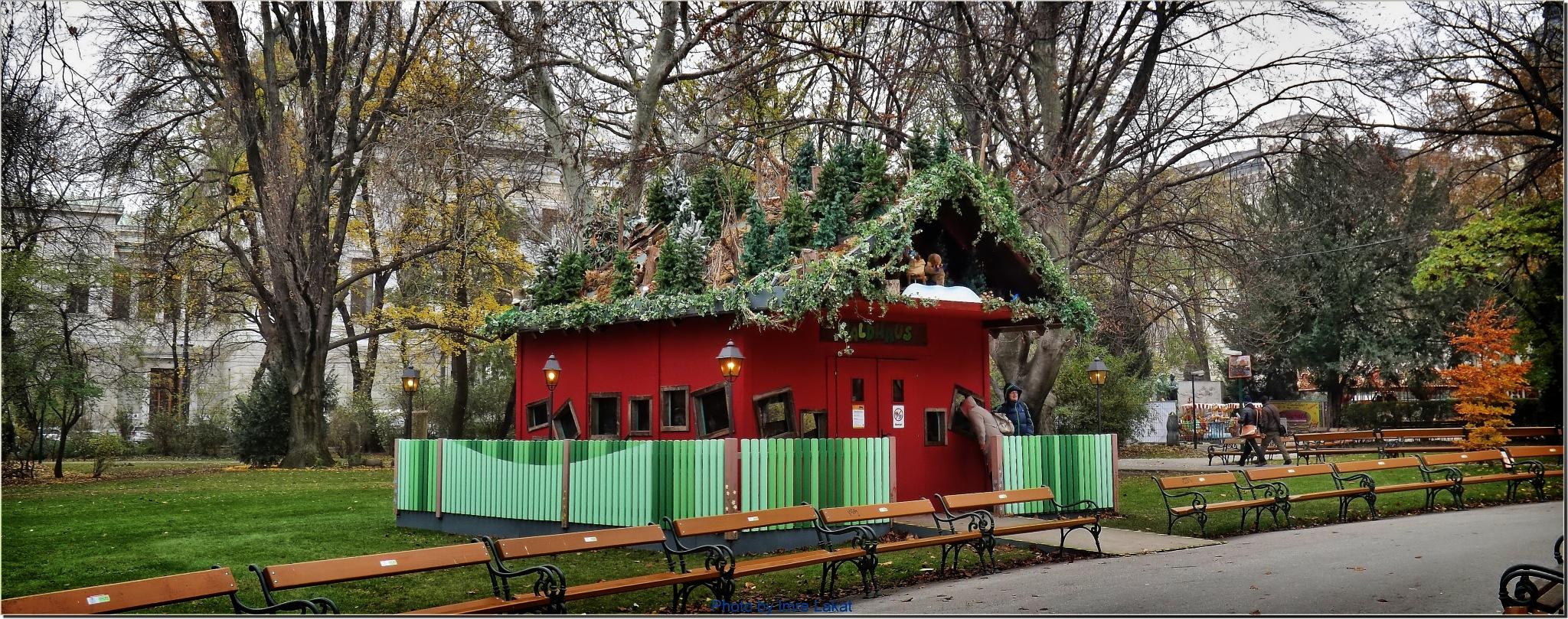 Waldhaus ...Österreich Lieblingswildtiere , in der Hütte wohnen sie by Imre Lakat