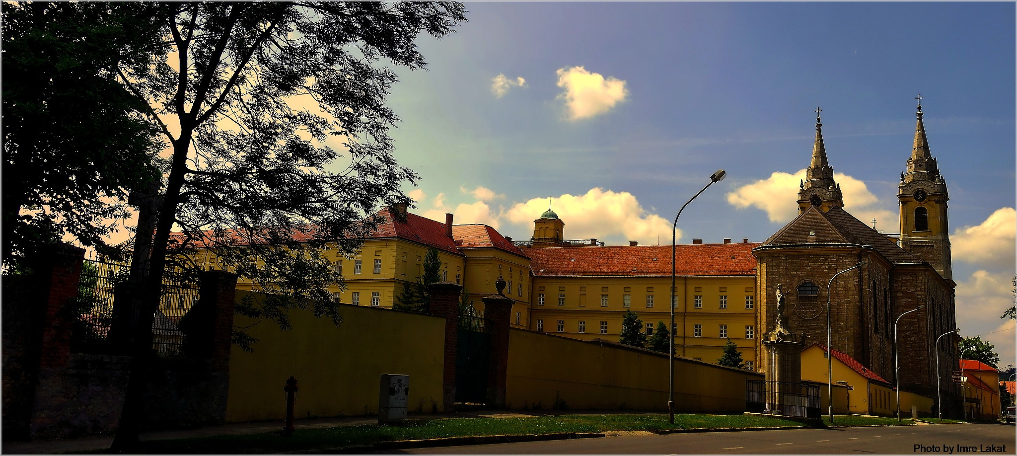 Nagyboldogasszony-bazilika .   8420 Zirc, Fáy András utca 1, Magyarország   by Imre Lakat