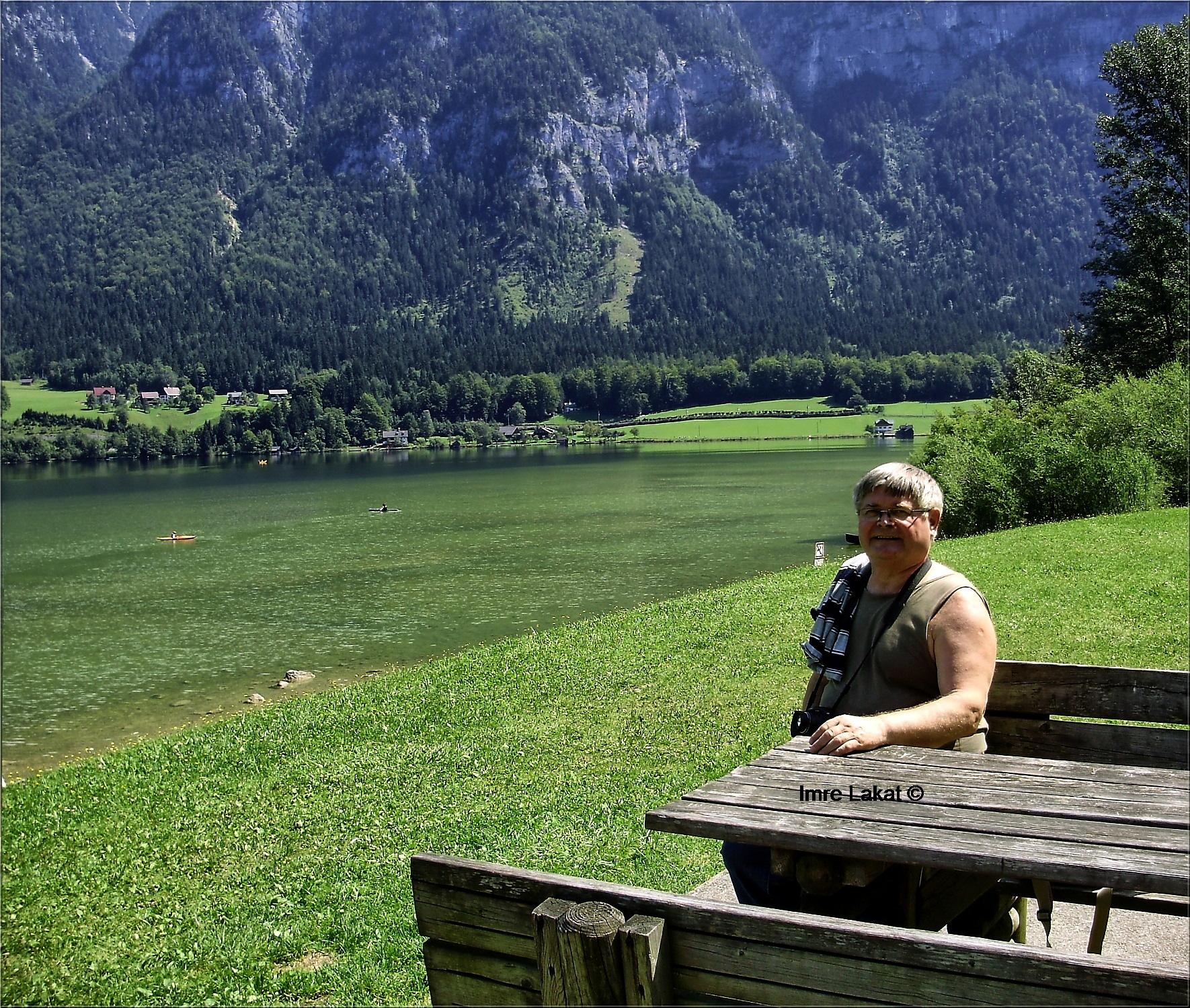 Resting near Hallstättersee  by Imre Lakat