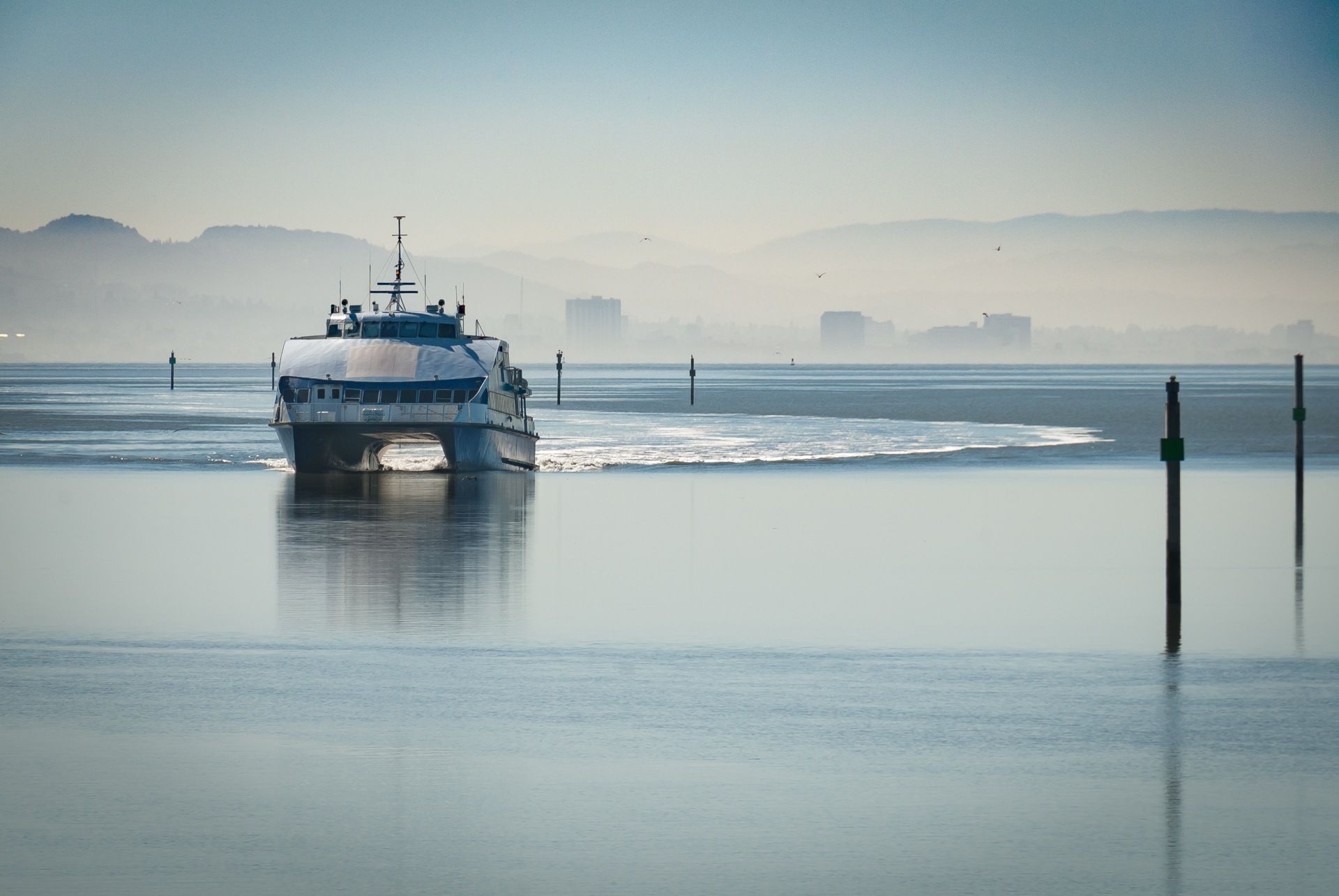 The Golden Gate Ferry by Martyn Howgill