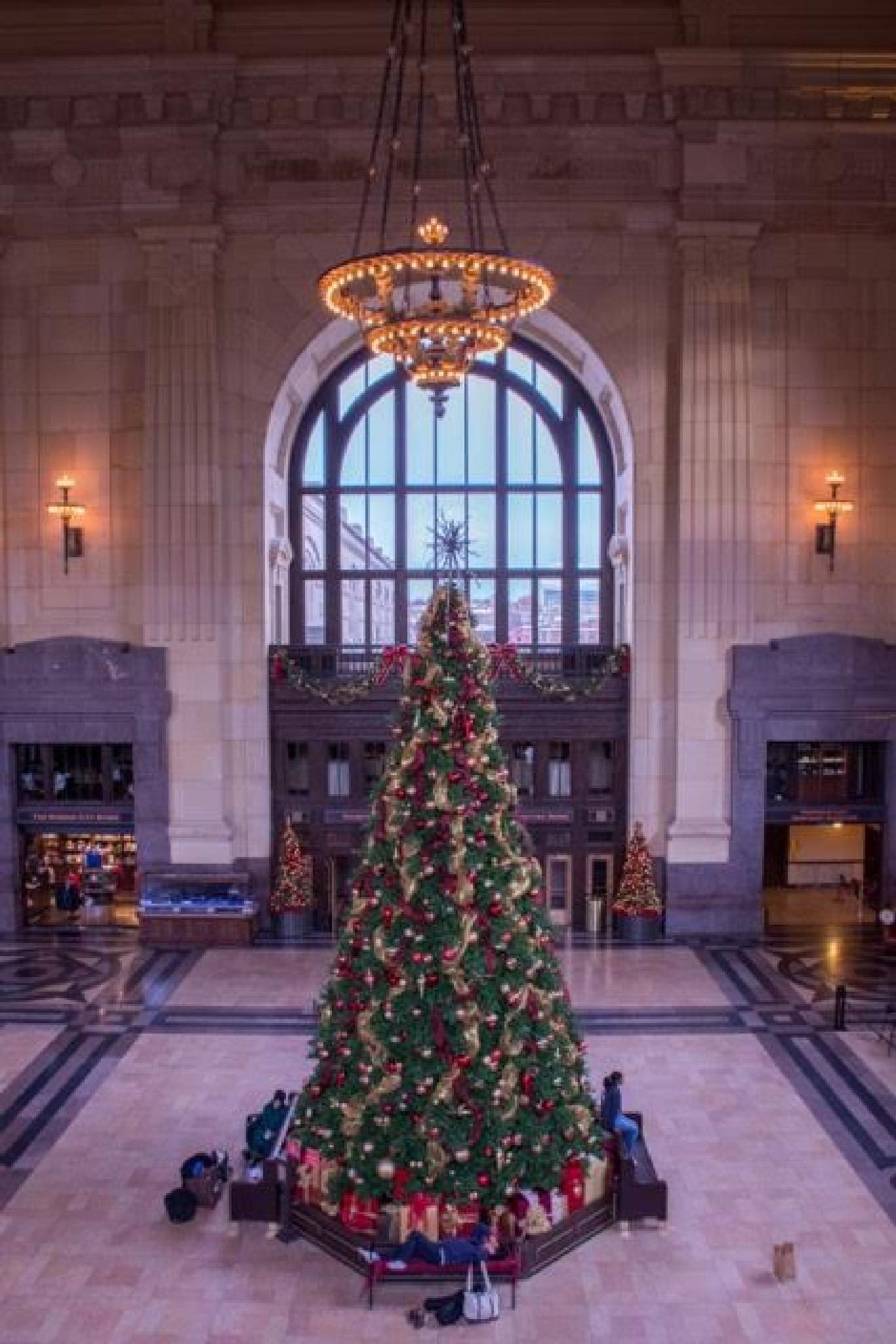 Union Station Christmas by Martyn Howgill