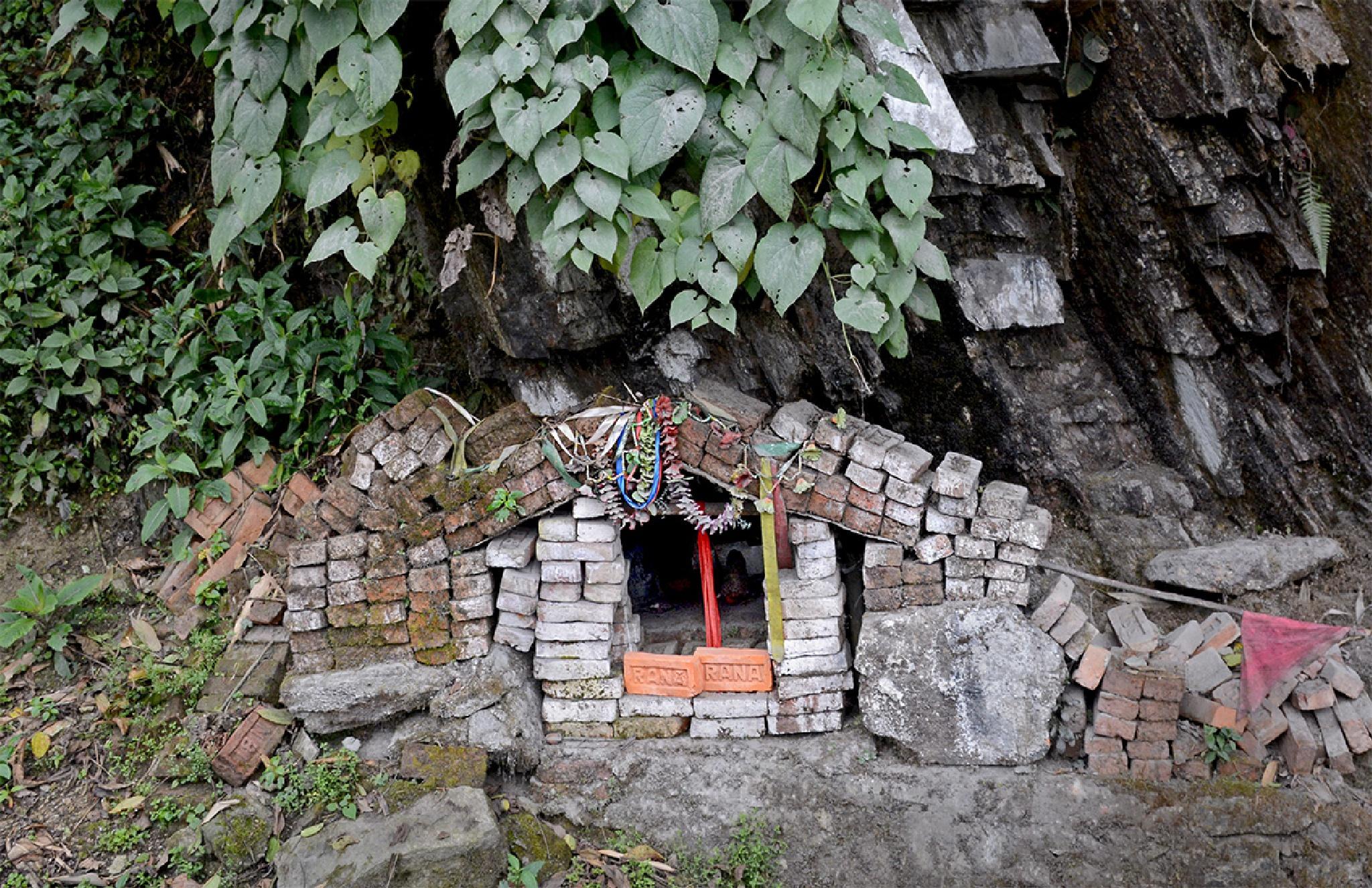 Small Temple by Saurabh Bhattacharyya