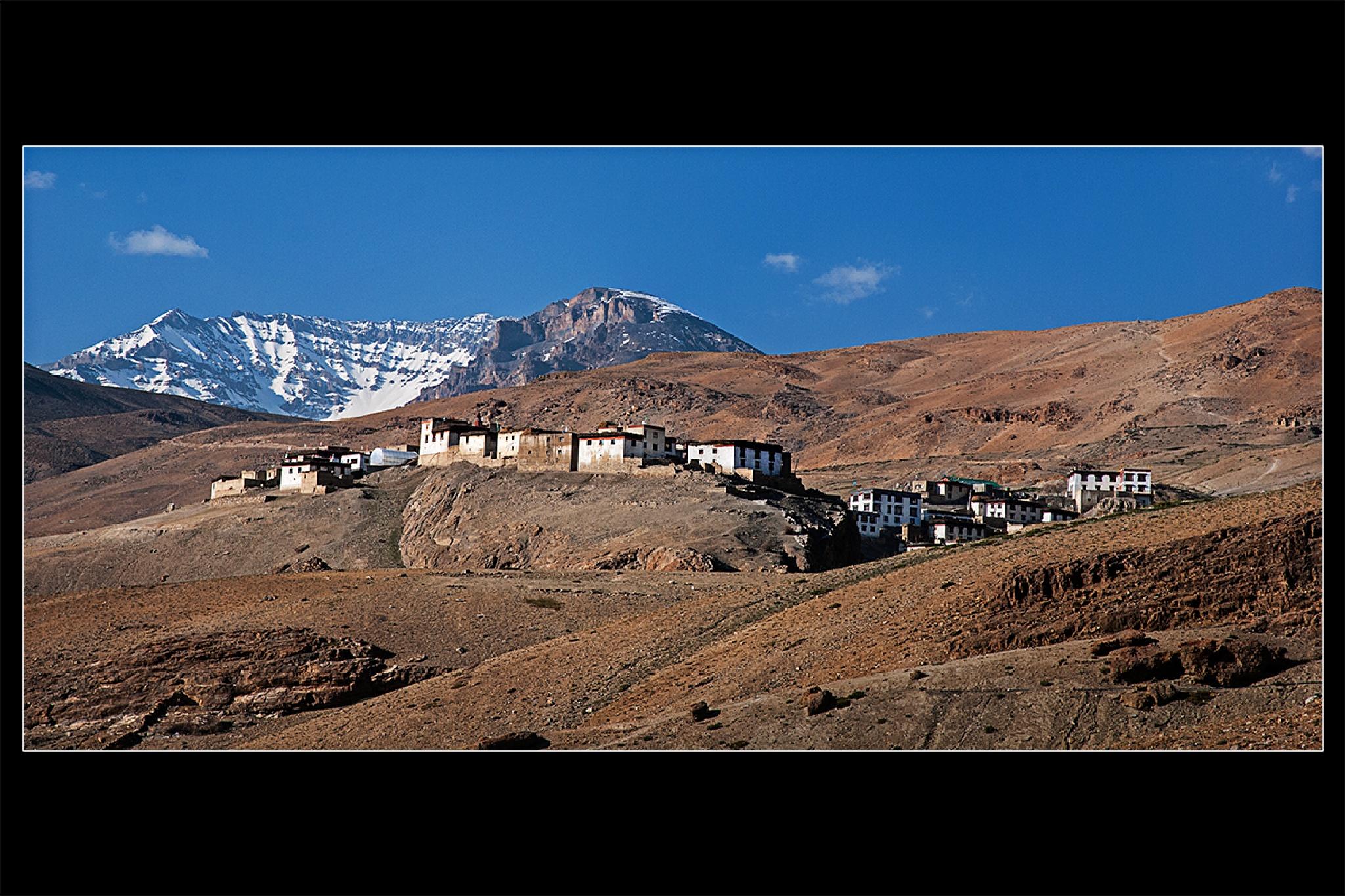 Spiti Valley by Saurabh Bhattacharyya