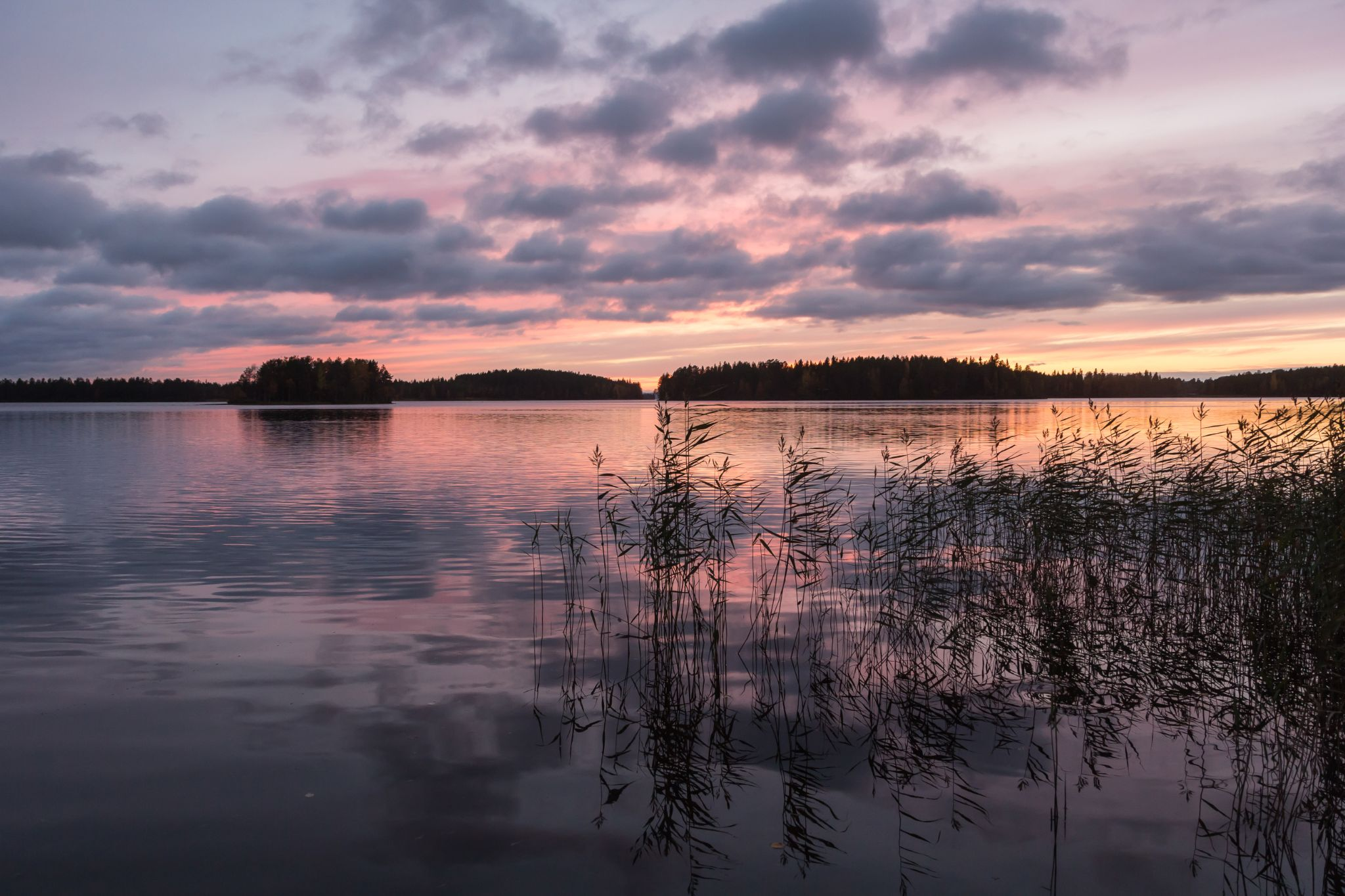 After sunset by Anne Talvensaari