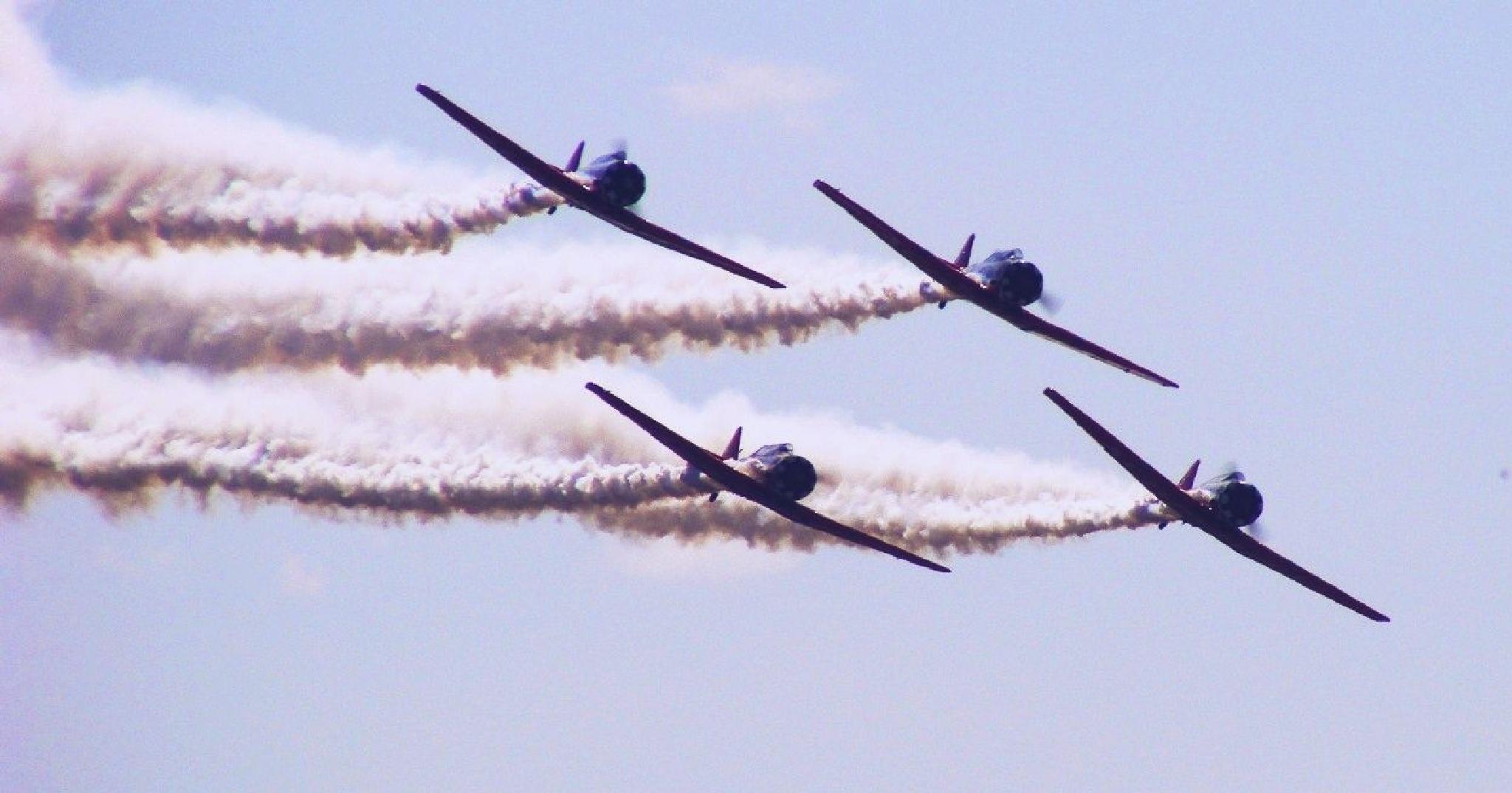 Formation Flying by Alex Ingram