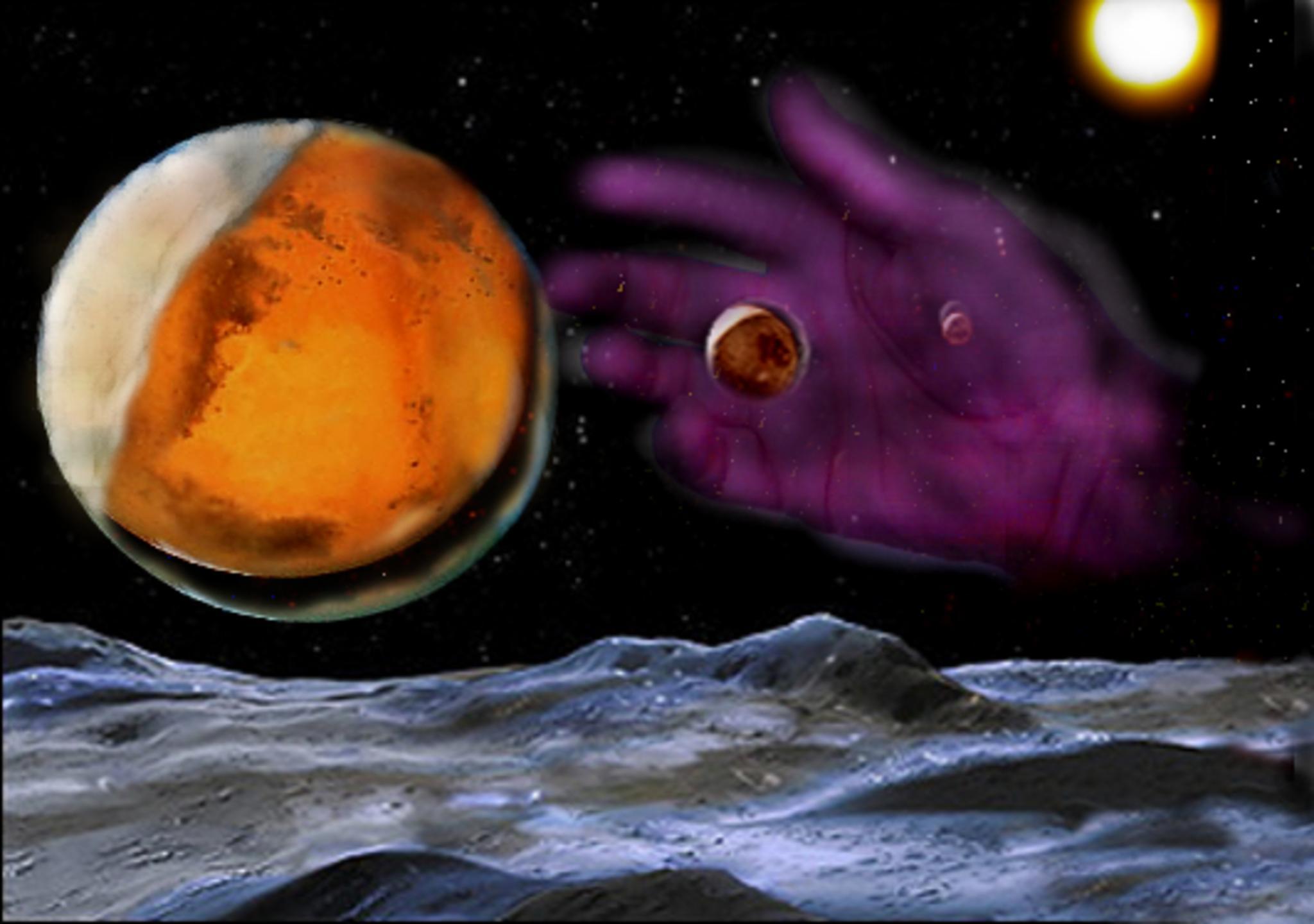 The hand of God by Alex Ingram