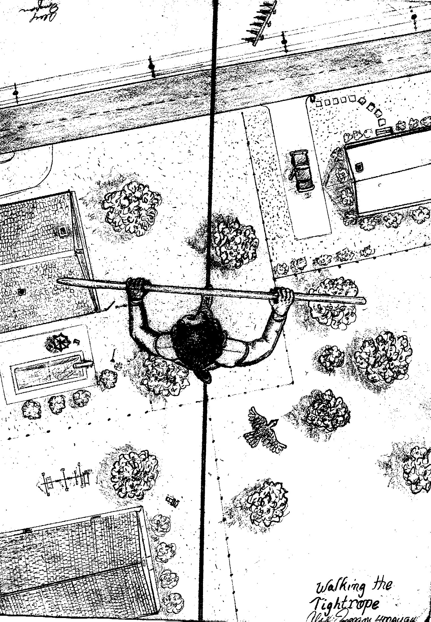Walking the line (residential version) by Alex Ingram