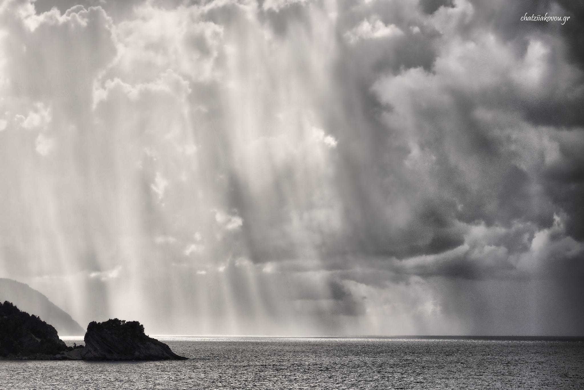 rain by Nikos Chatziiakovou