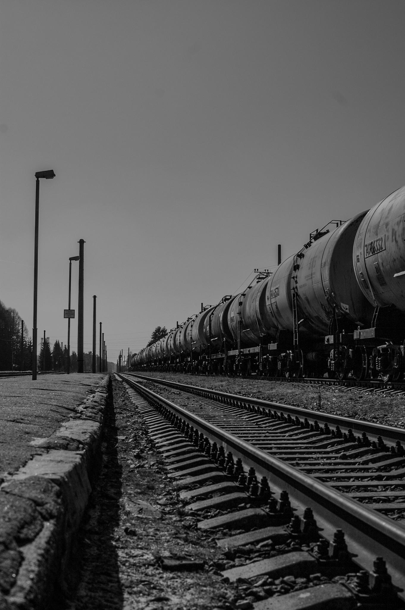 Railway by Laura Ozolina photography