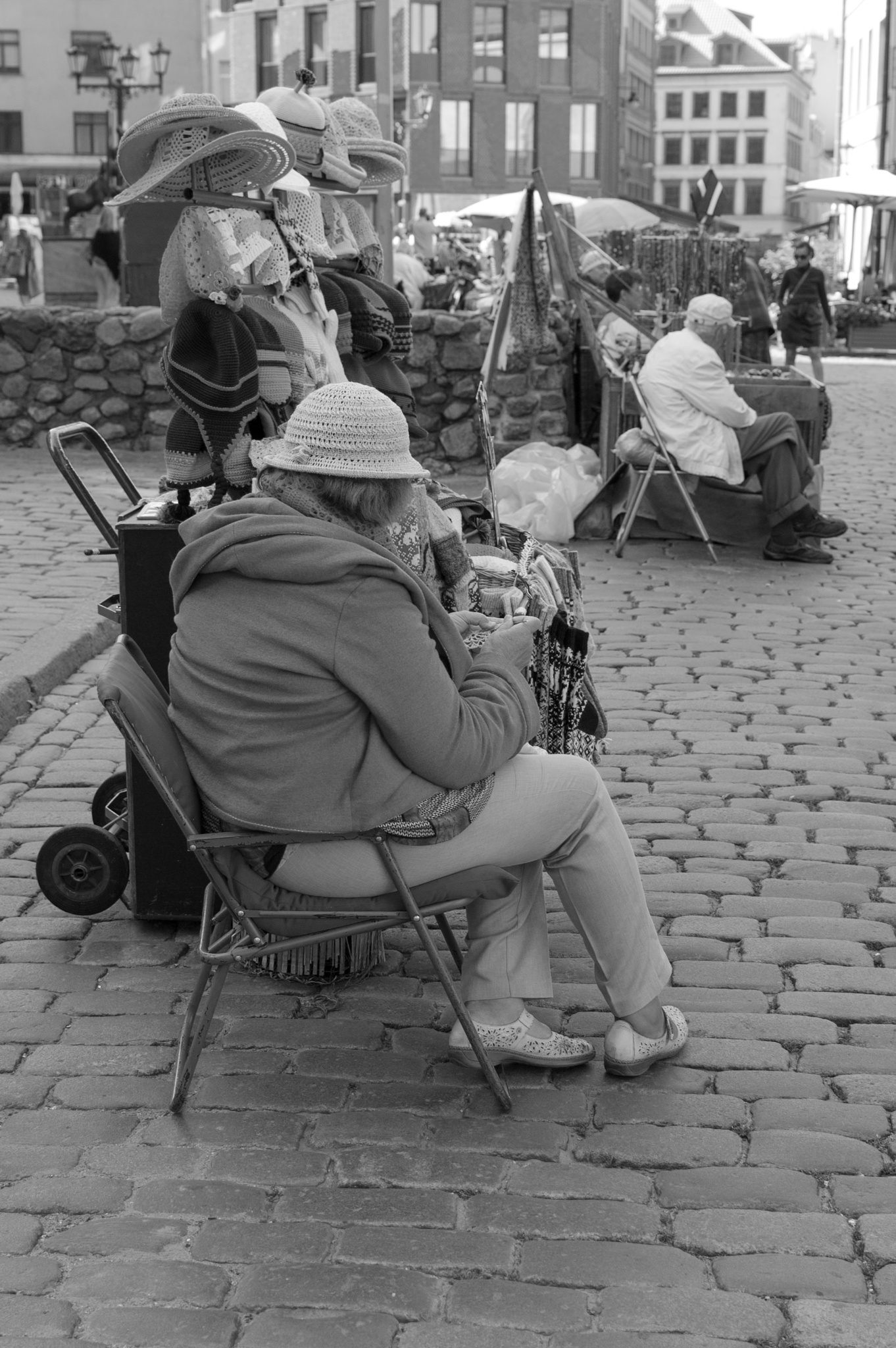 People in Old Riga by Laura Ozolina photography