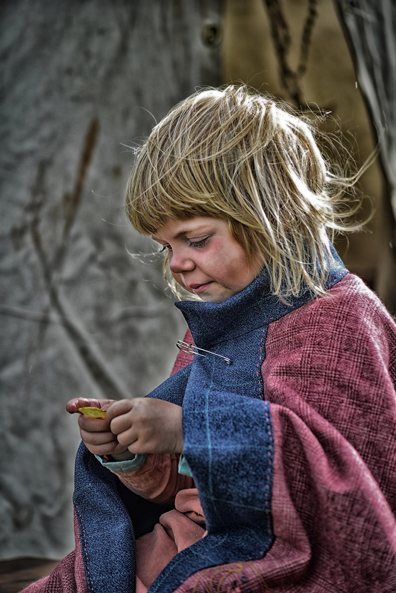 Littel Viking girl by gudlaugurgudmundsson1