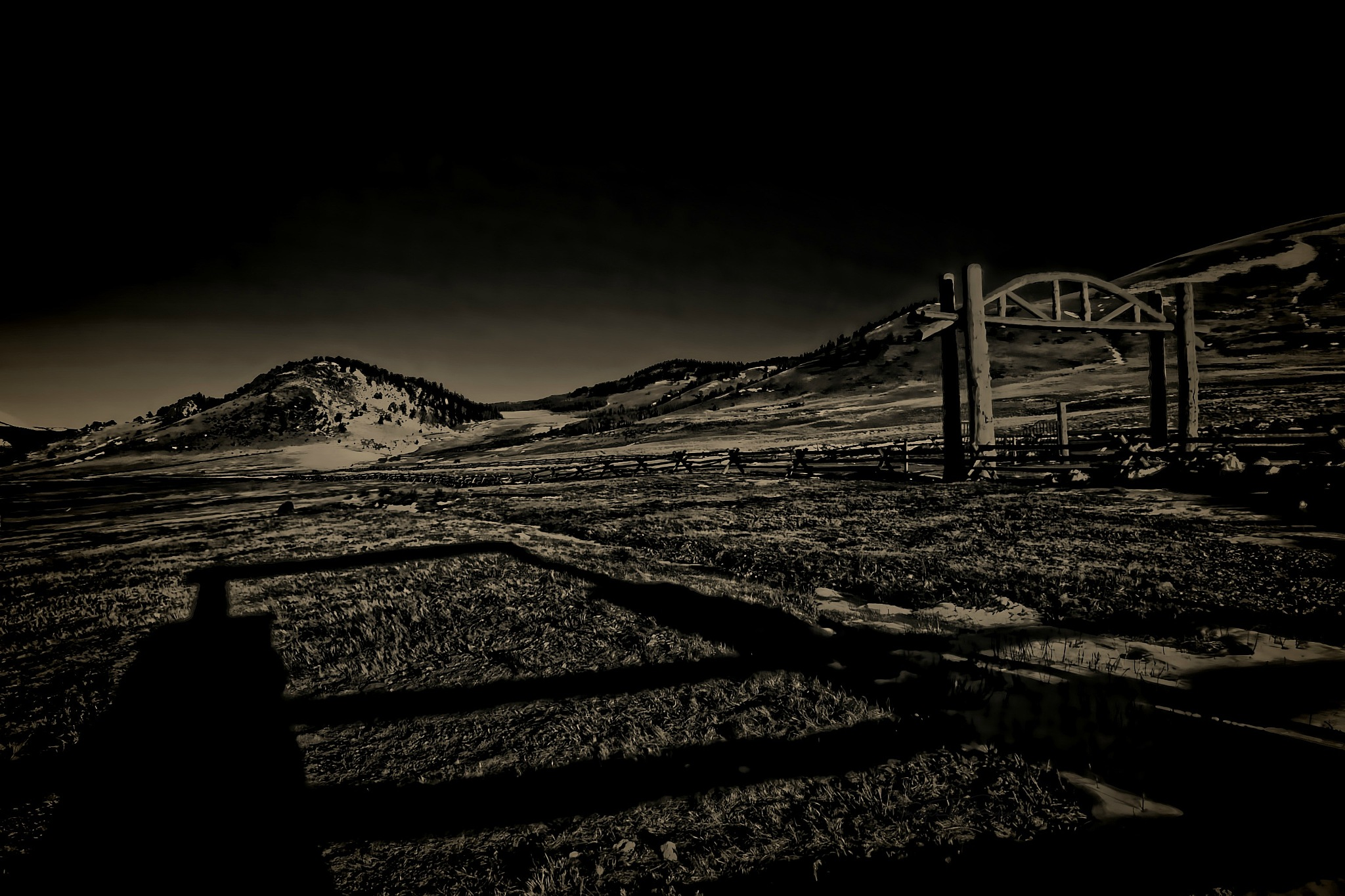 Ranch Gateway by Todd Yoder