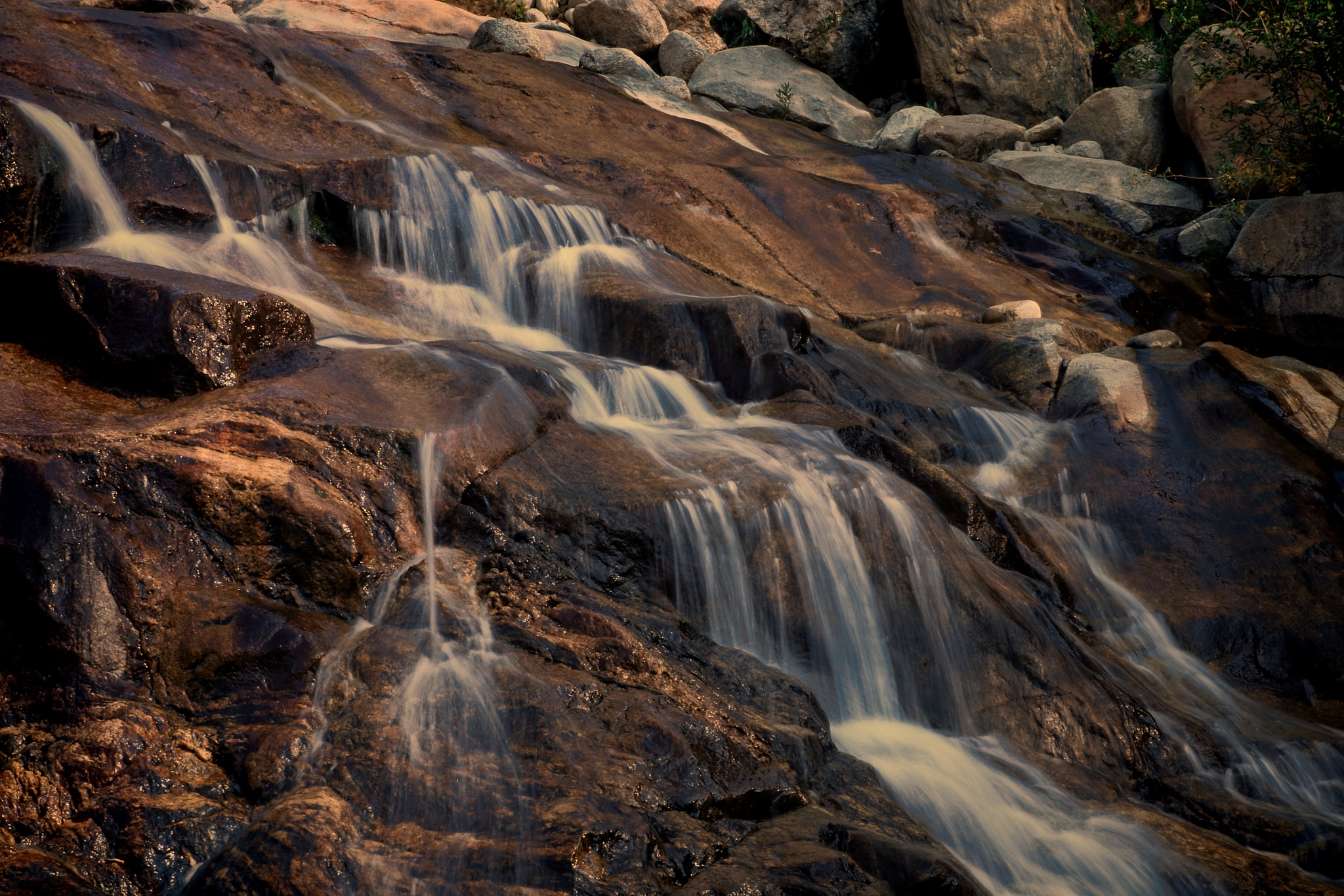 Alluvial Fan Falls by Todd Yoder