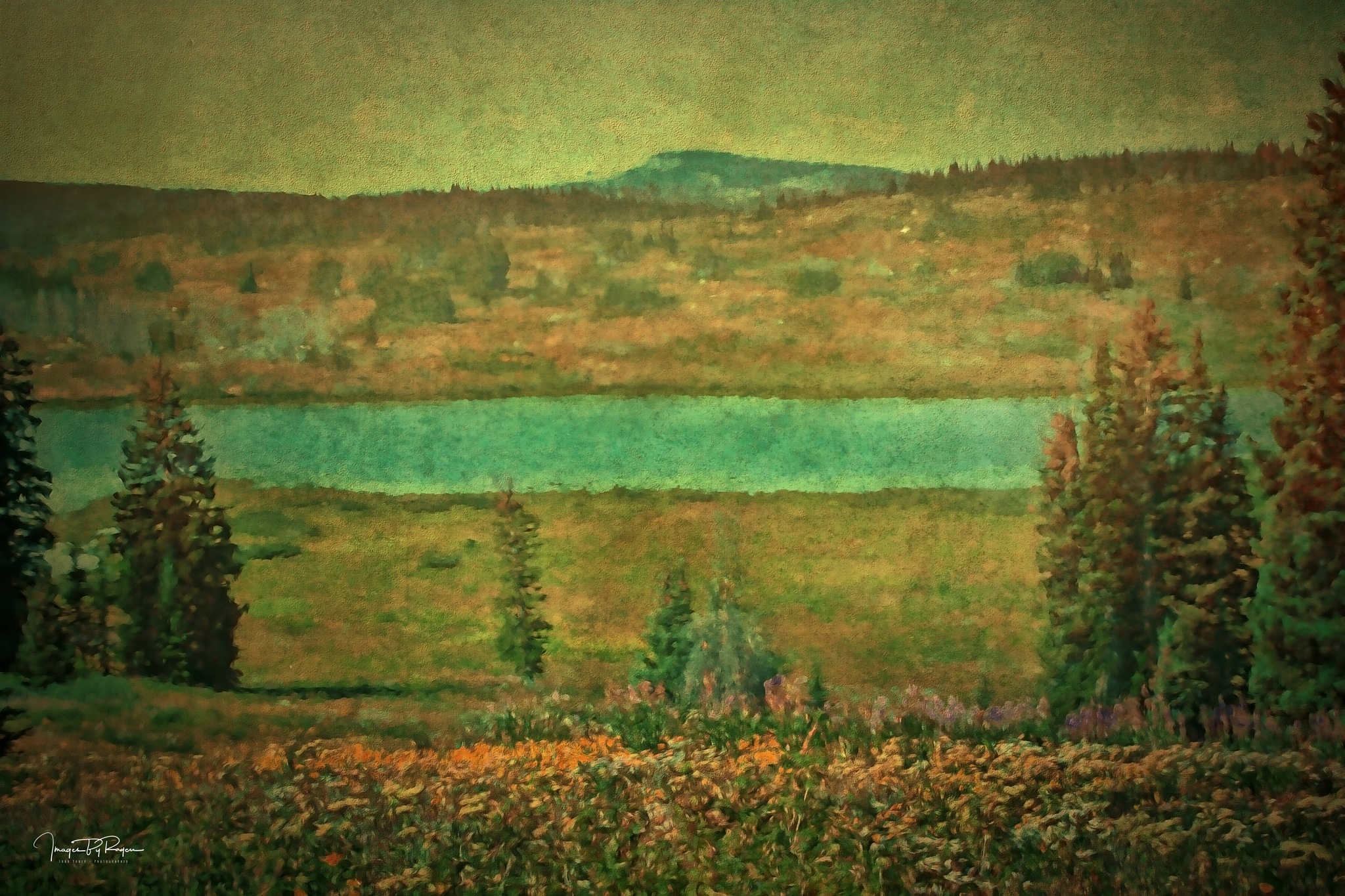 Dumont Lake by Todd Yoder