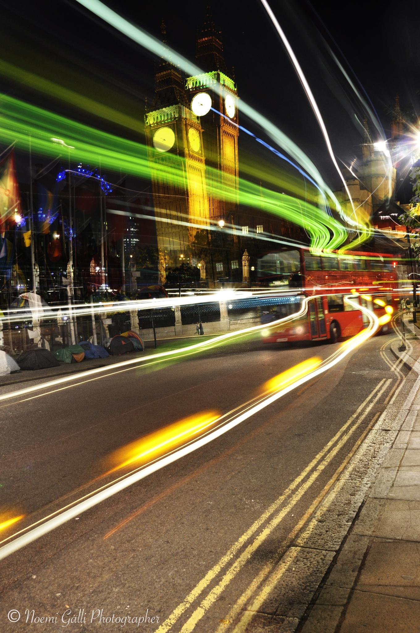Lights of london  by gallinoemi