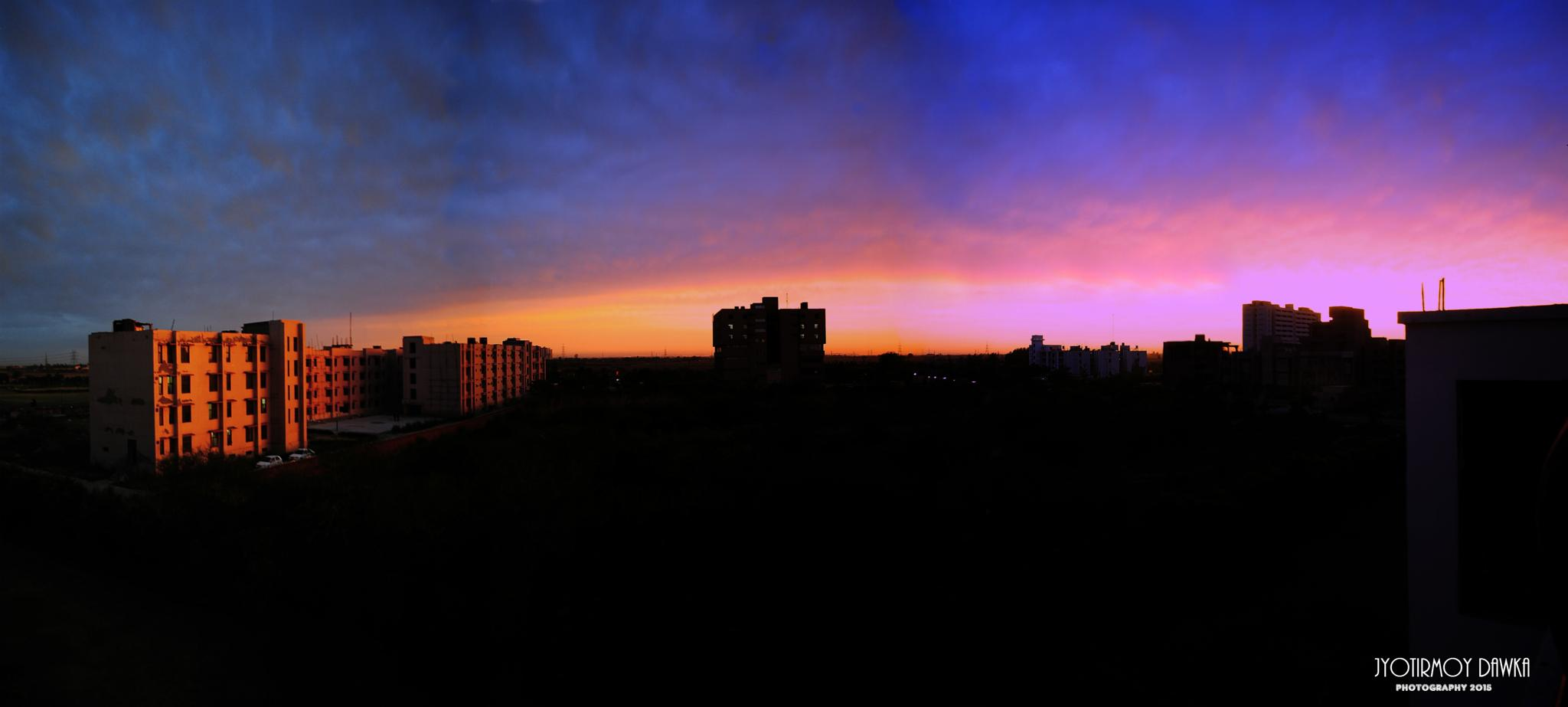 Panorama by Jyotirmoy Dawka