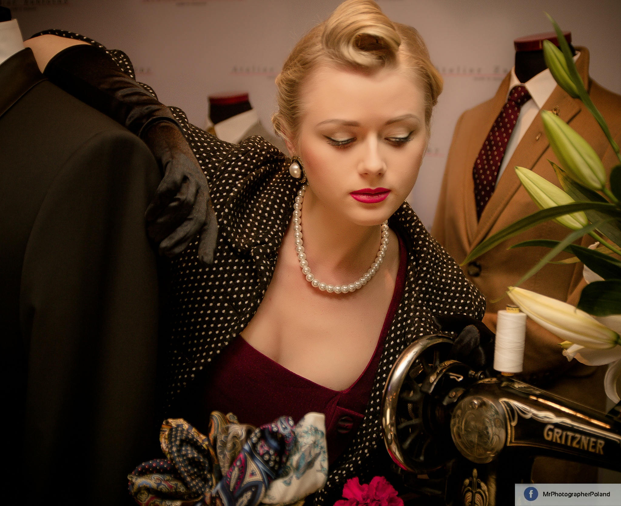 At the tailor's by PanFotograf