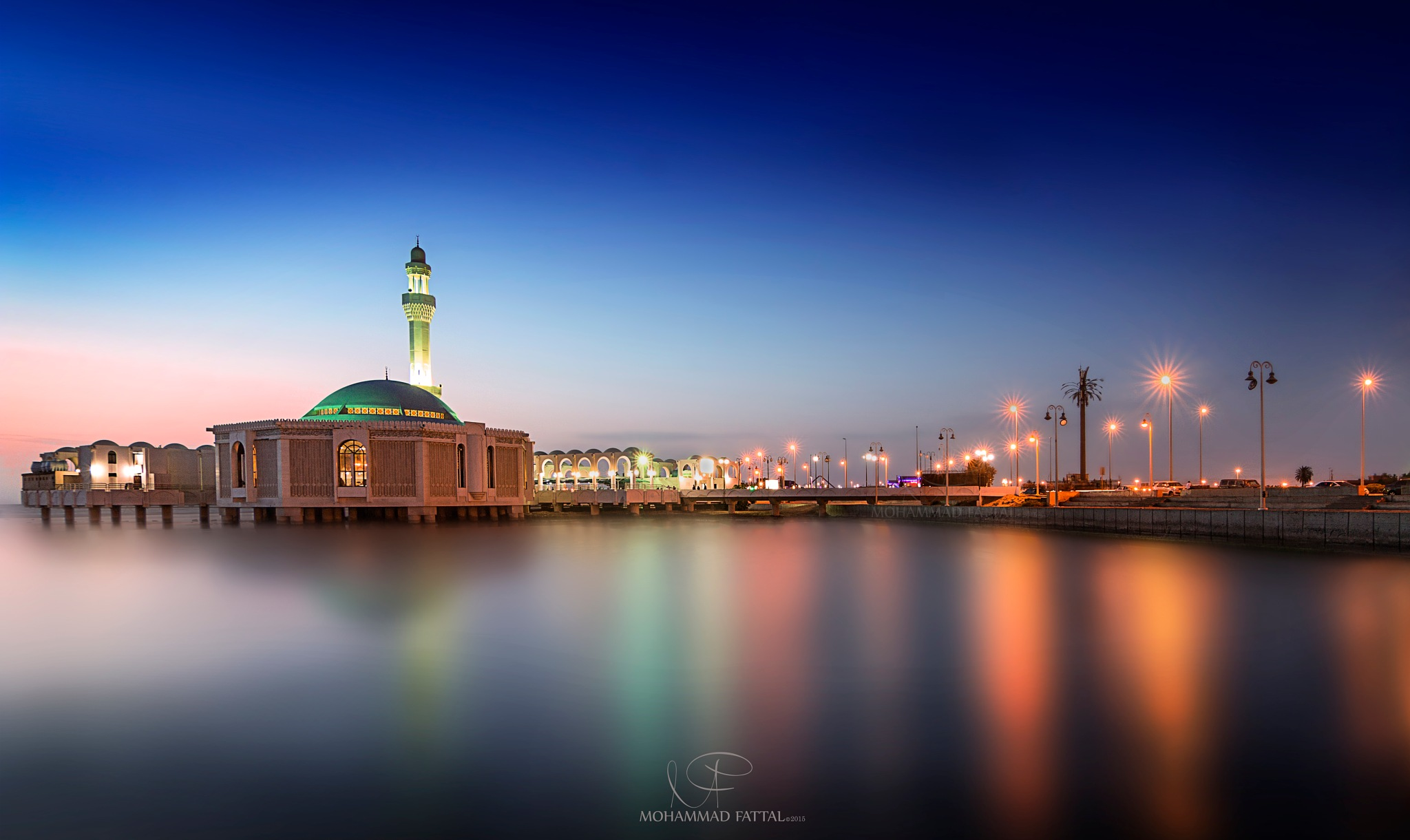 Mosque In Jeddah by Mohammad Fattal