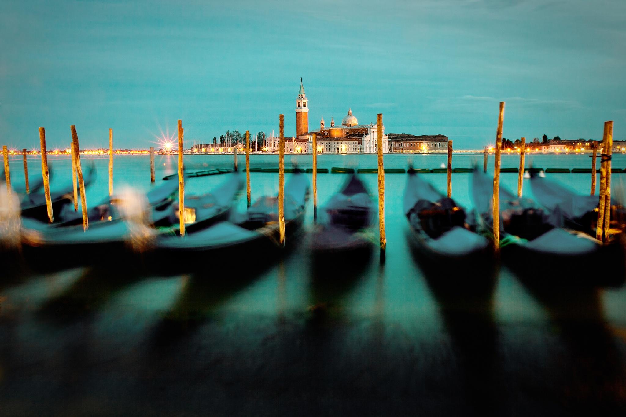 Venice by Brigitte Sanladerer