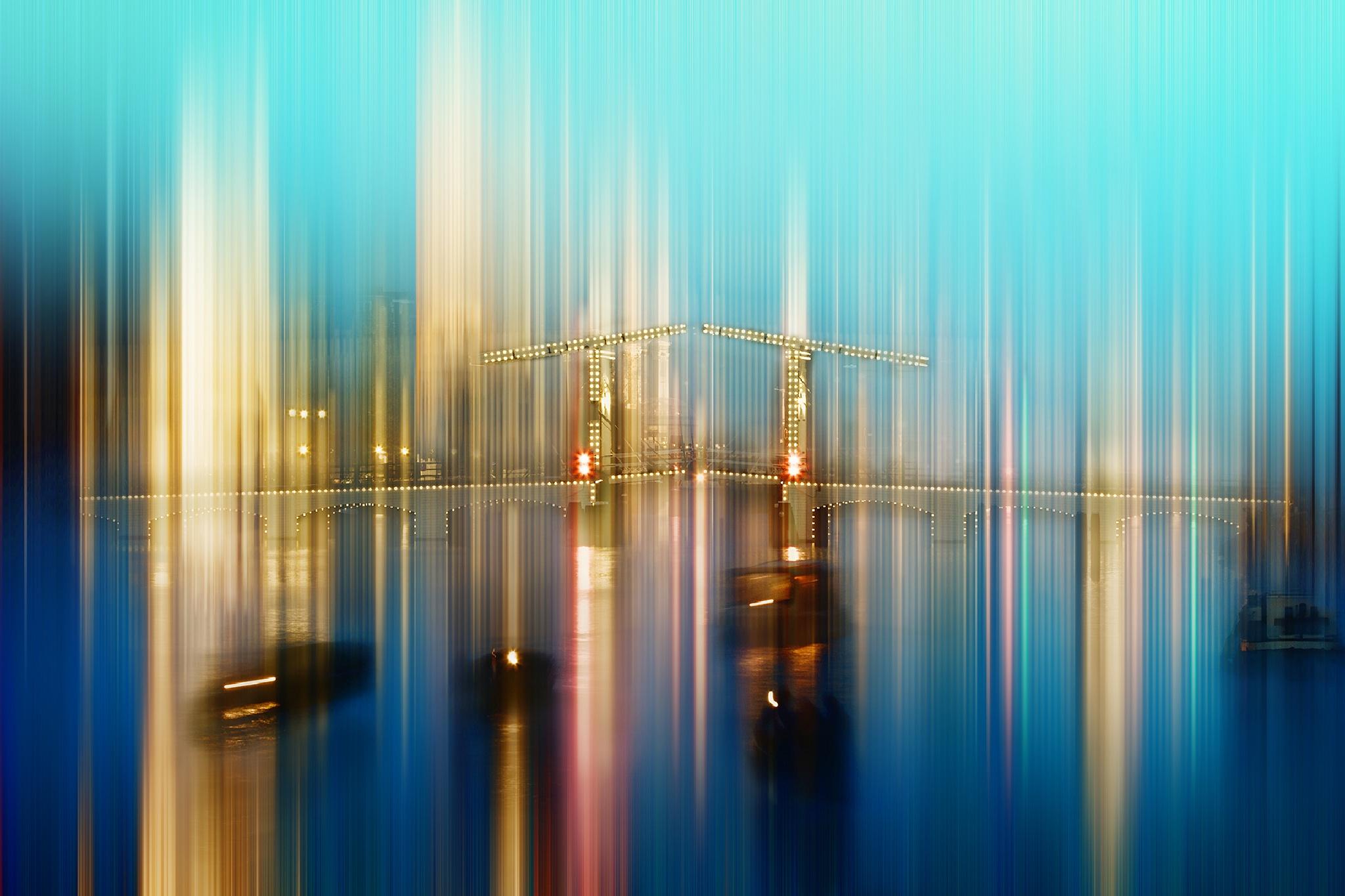 Amsterdam - Magere Brug by Brigitte Sanladerer