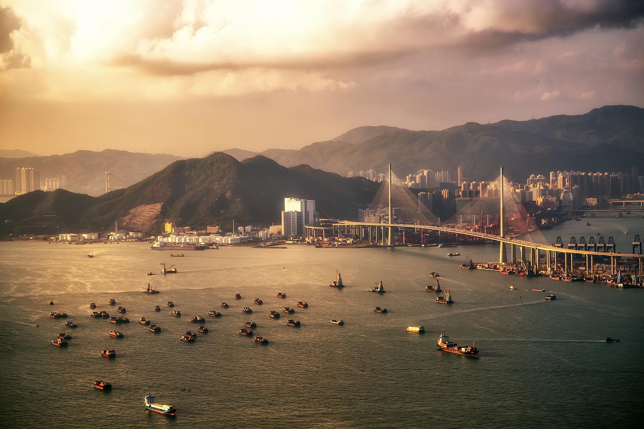 Tsing Ma Bridge by seosphotography
