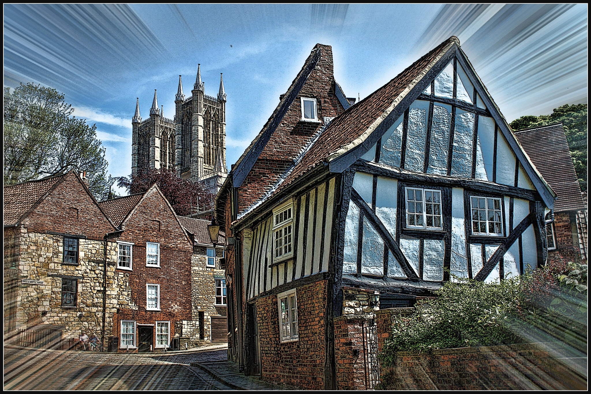 Lincoln Cathedral by Terry Jackson