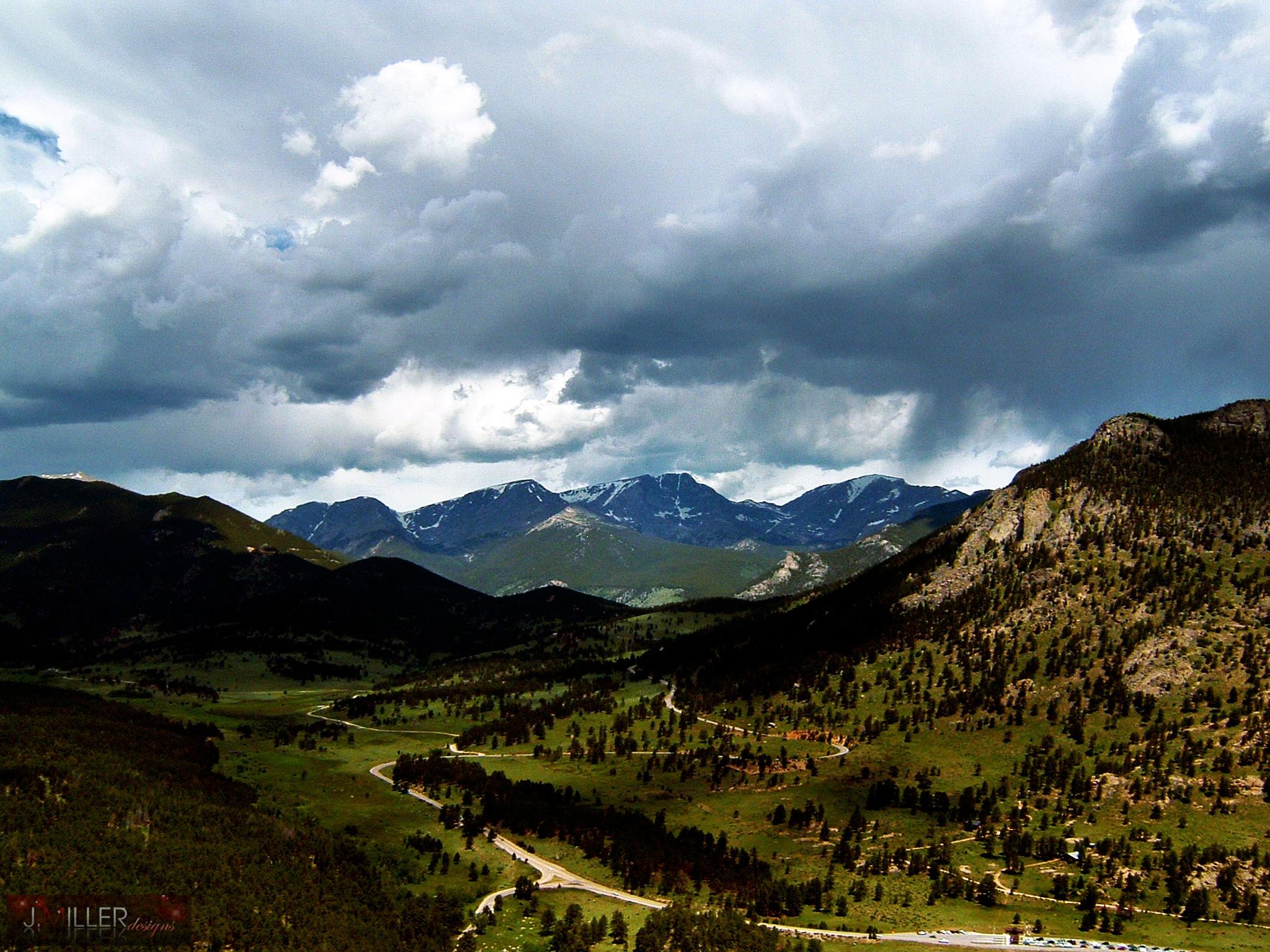 Colorado Valleys by Justin Miller