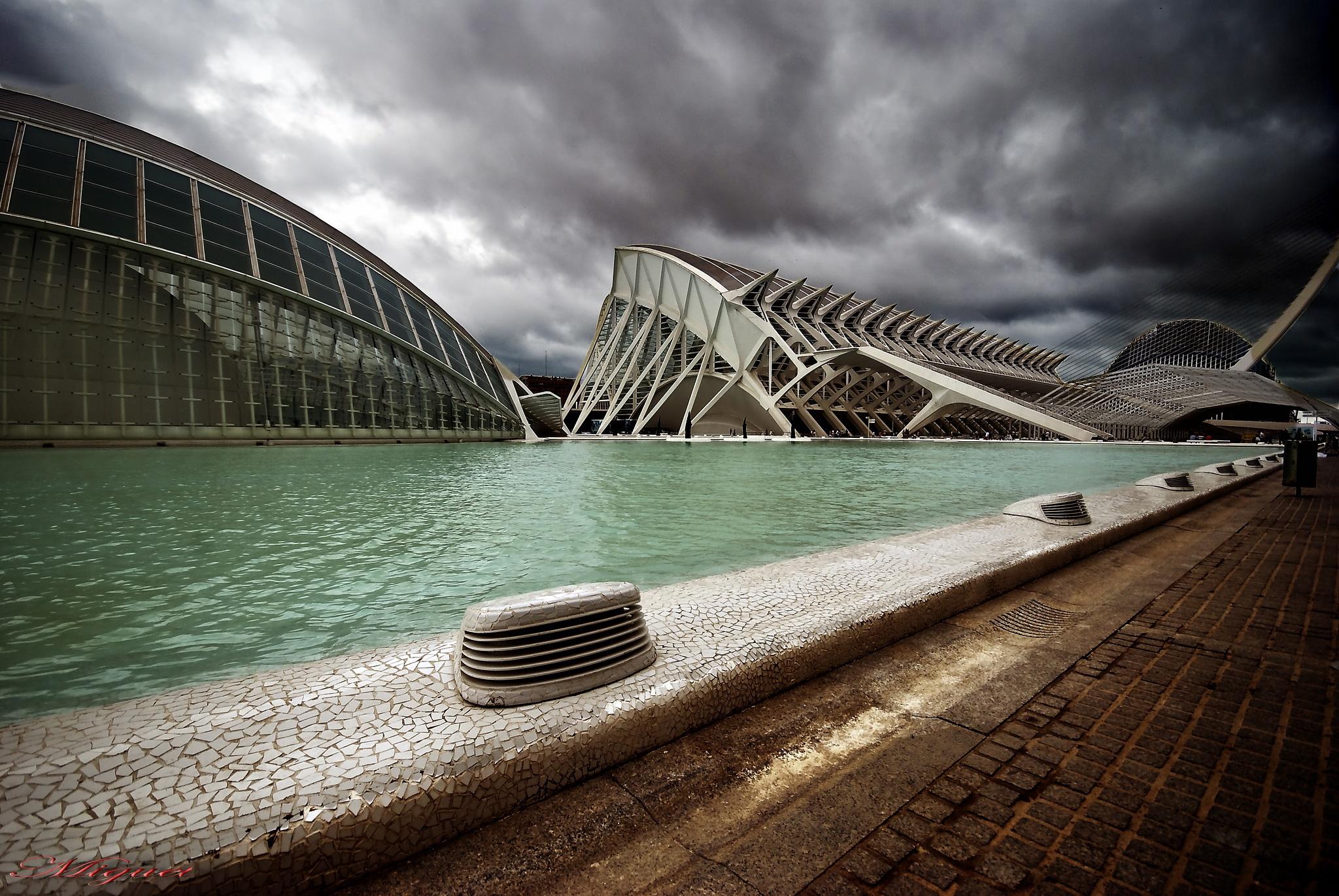 ciudad de las artes by Miguel Angel Martin Vargas