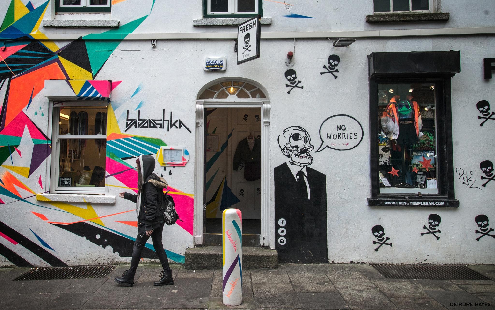 Temple Bar, Dublin by Deirdre Hayes