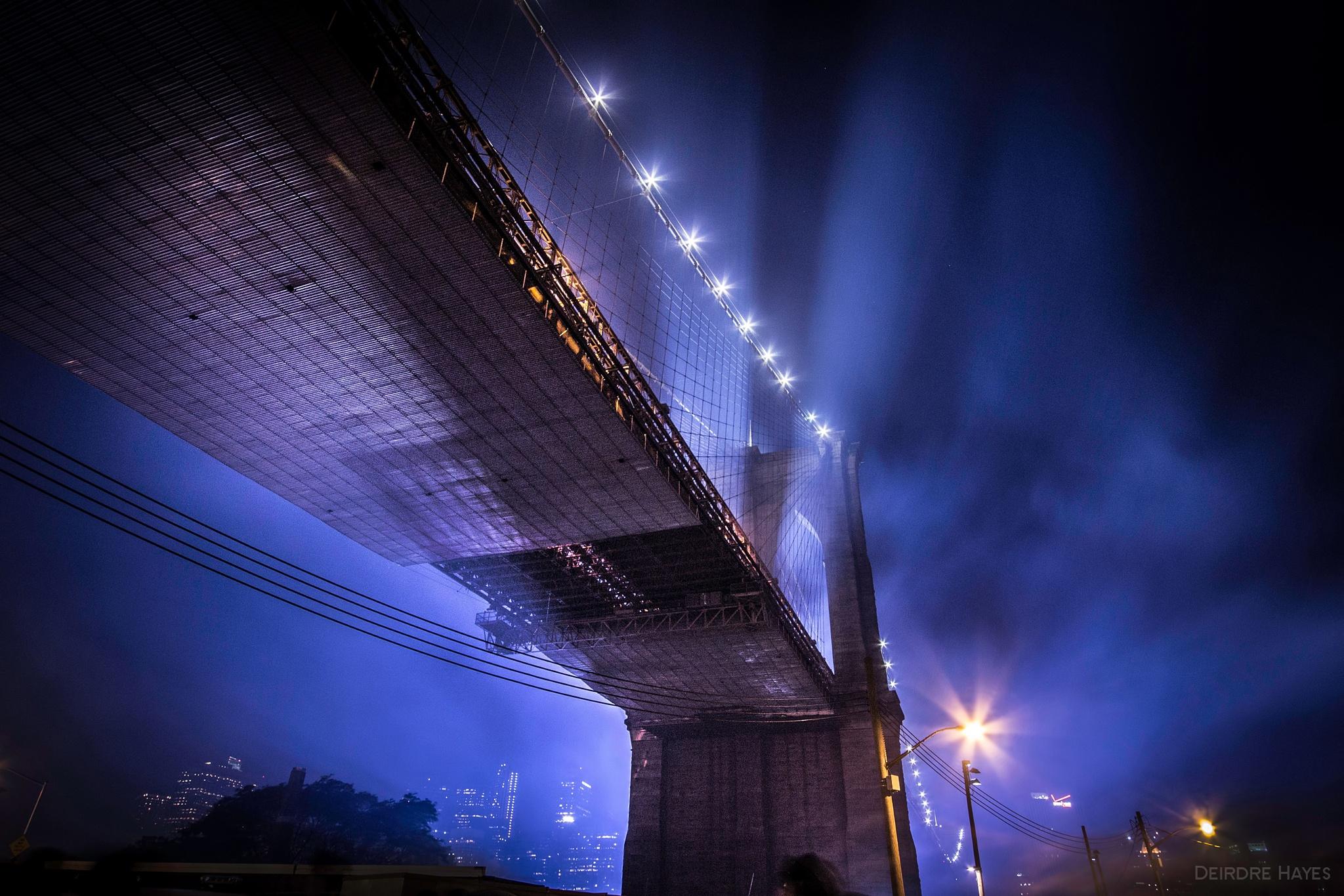 Brooklyn Bridge by Deirdre Hayes