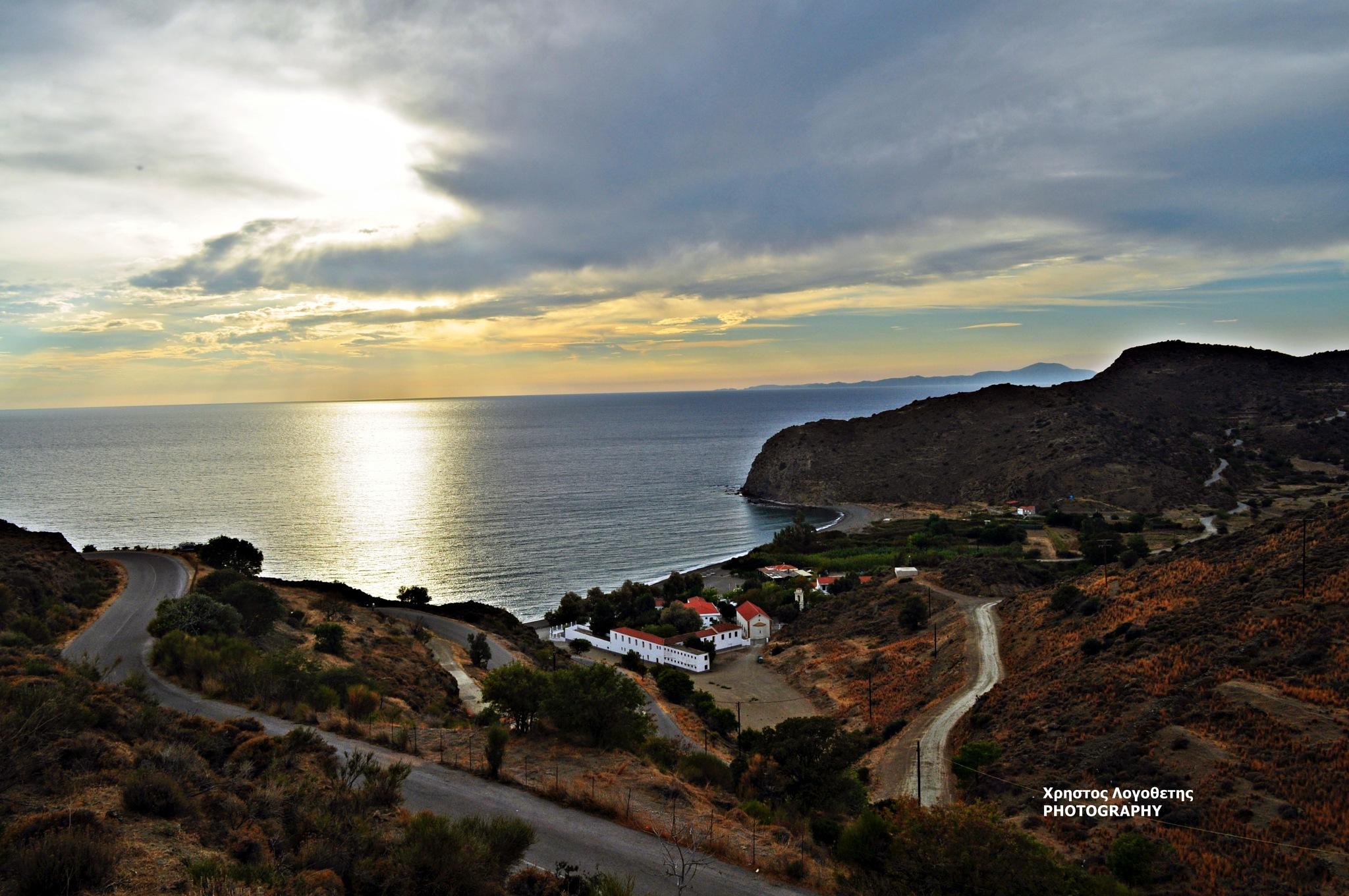 Greece Island Chios (Volissos) by Chris Logothetis