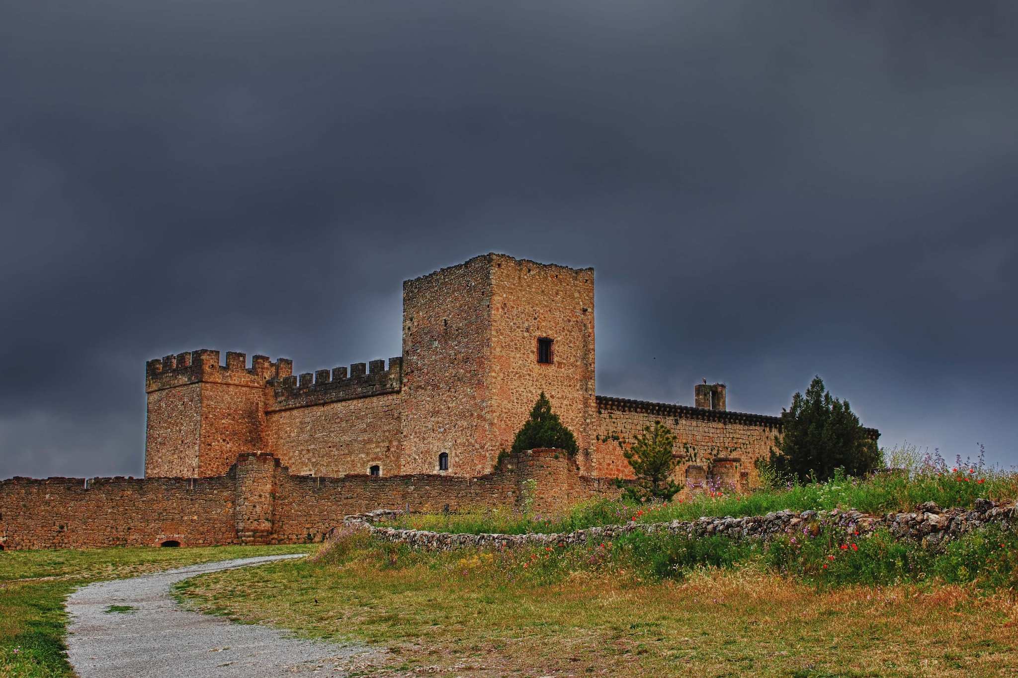 Castillo de Pedraza. by julio rubio