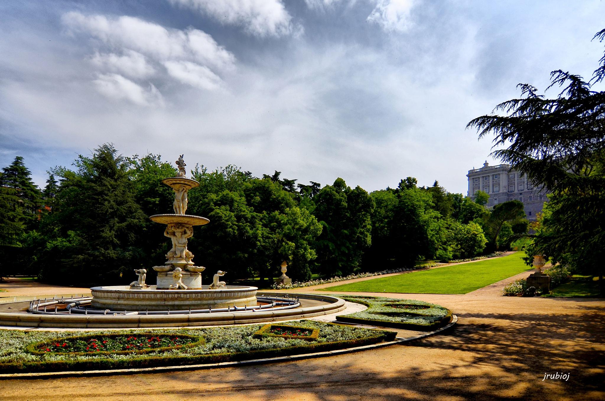 Jardines Campo del Moro by julio rubio