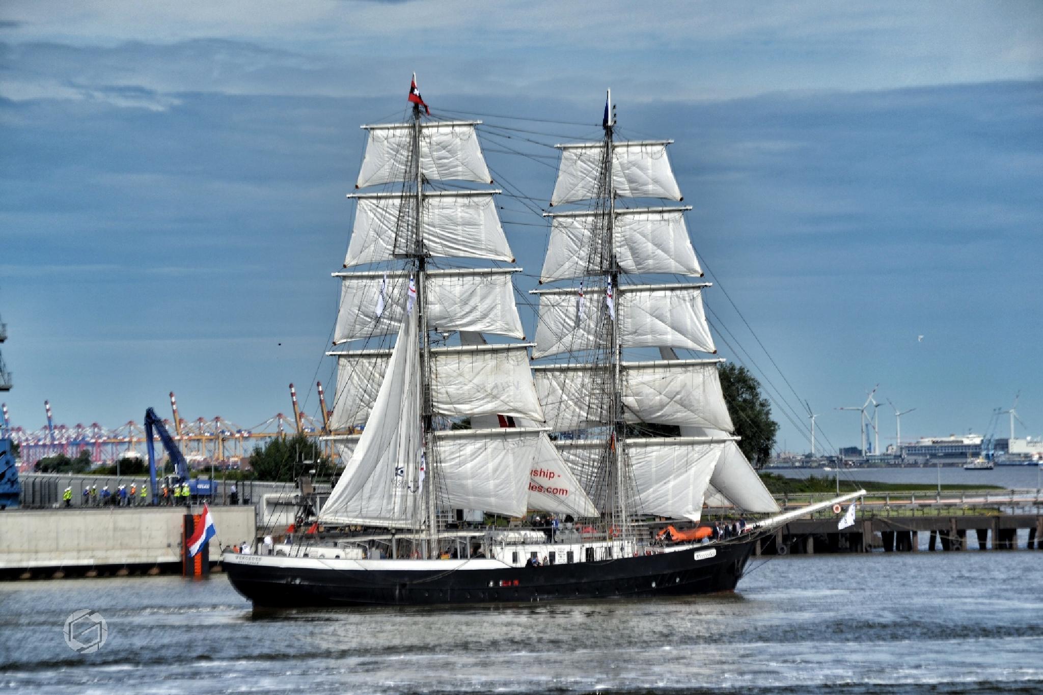 Sailship by Sebastian Gebeyehou