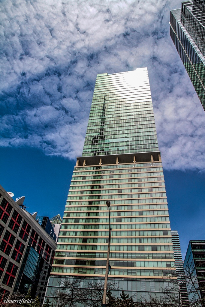 CN Tower Shadow by El Merrifield