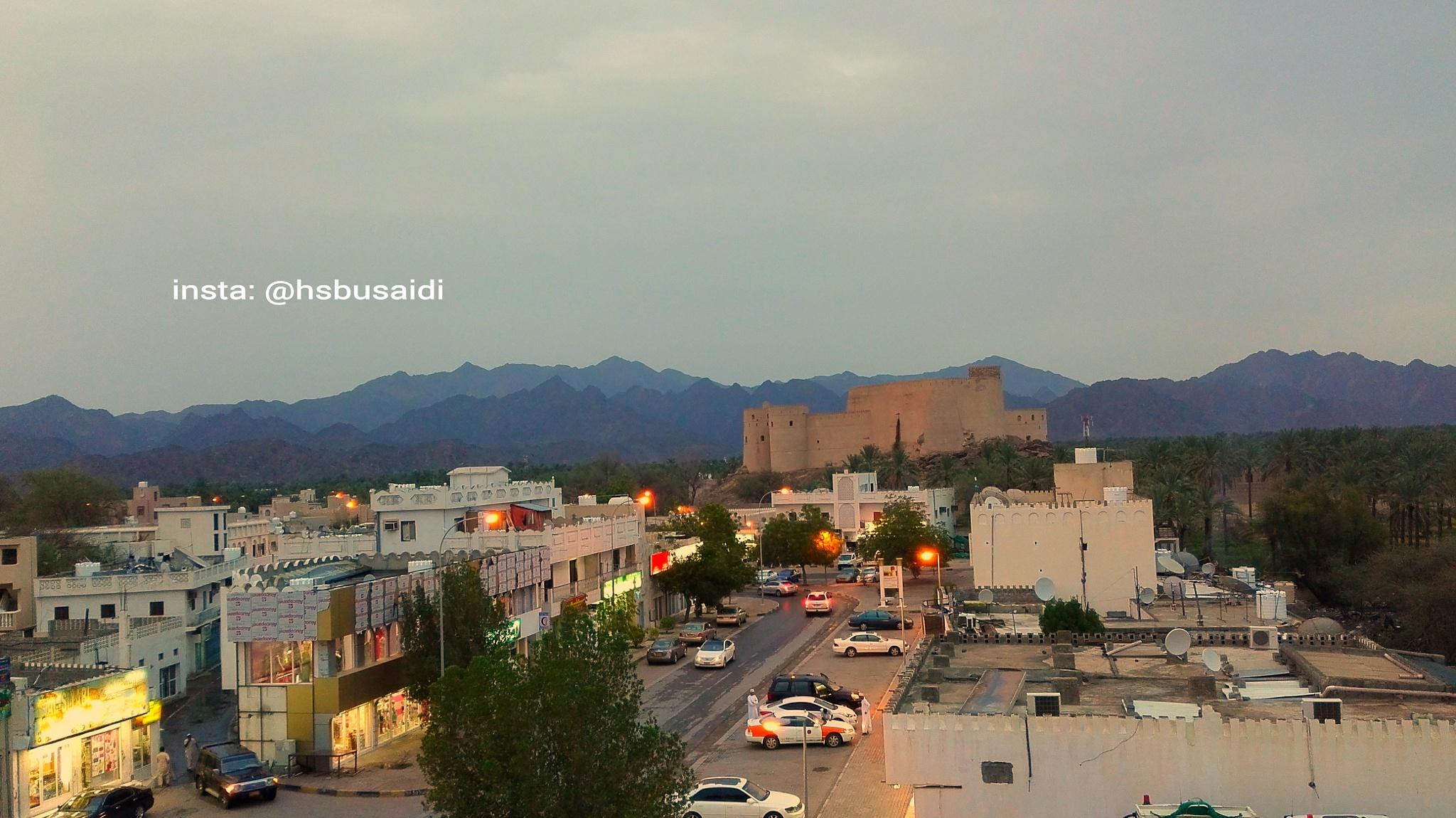 Rustaq town center. by Hamed Saif Albusaidi