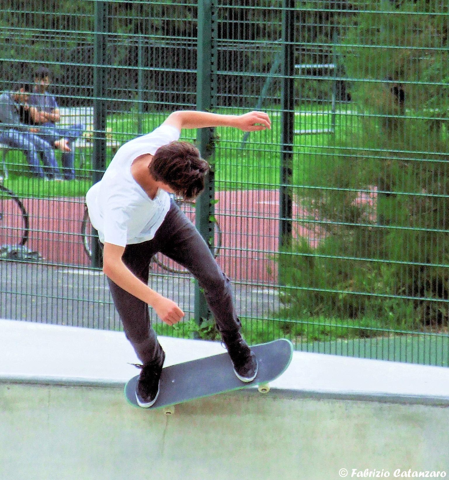 Skateboarding in Bozen n.5 by fabricata