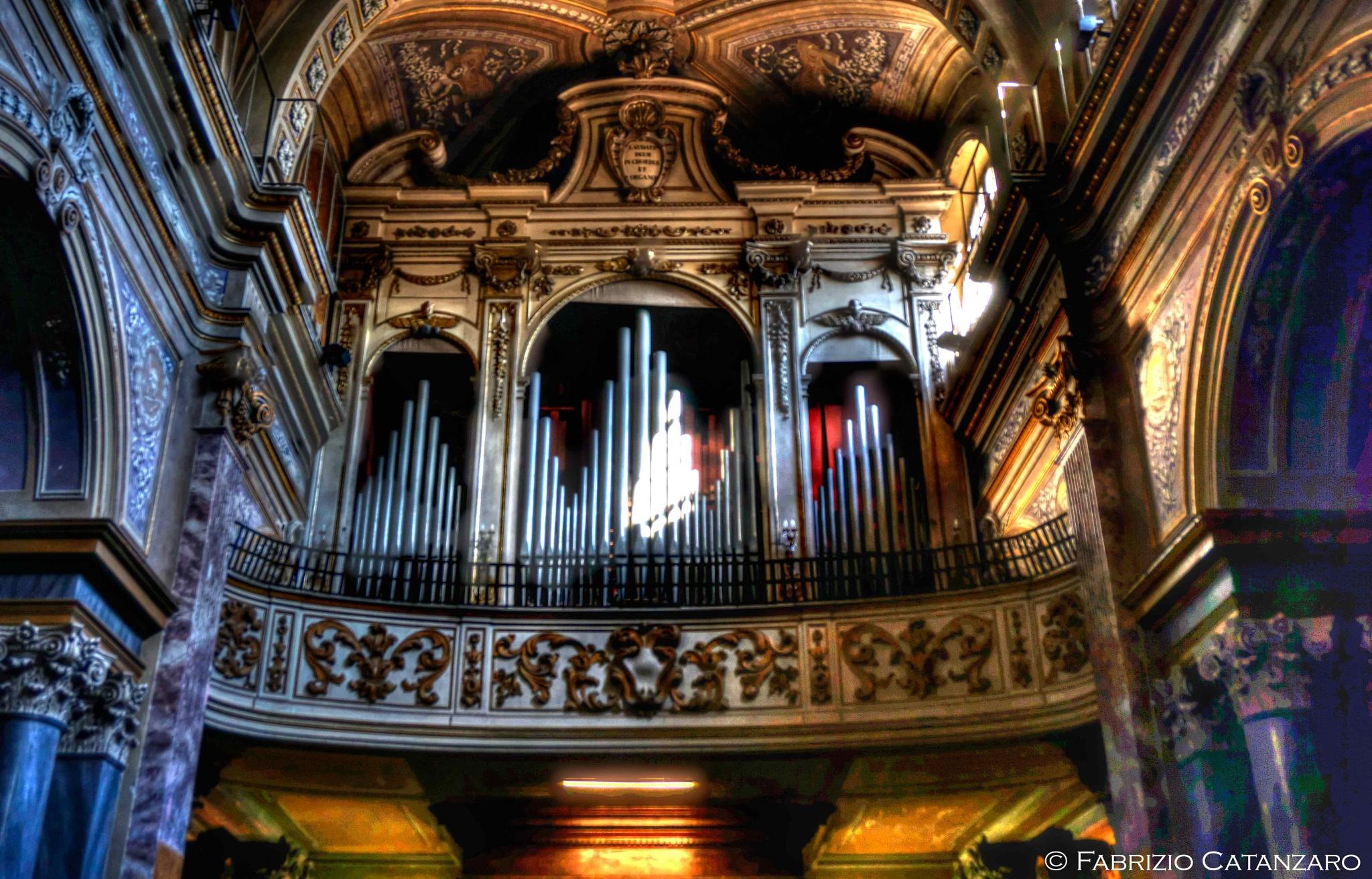 The organ of the Santa Maria Assunta cathedral by fabricata