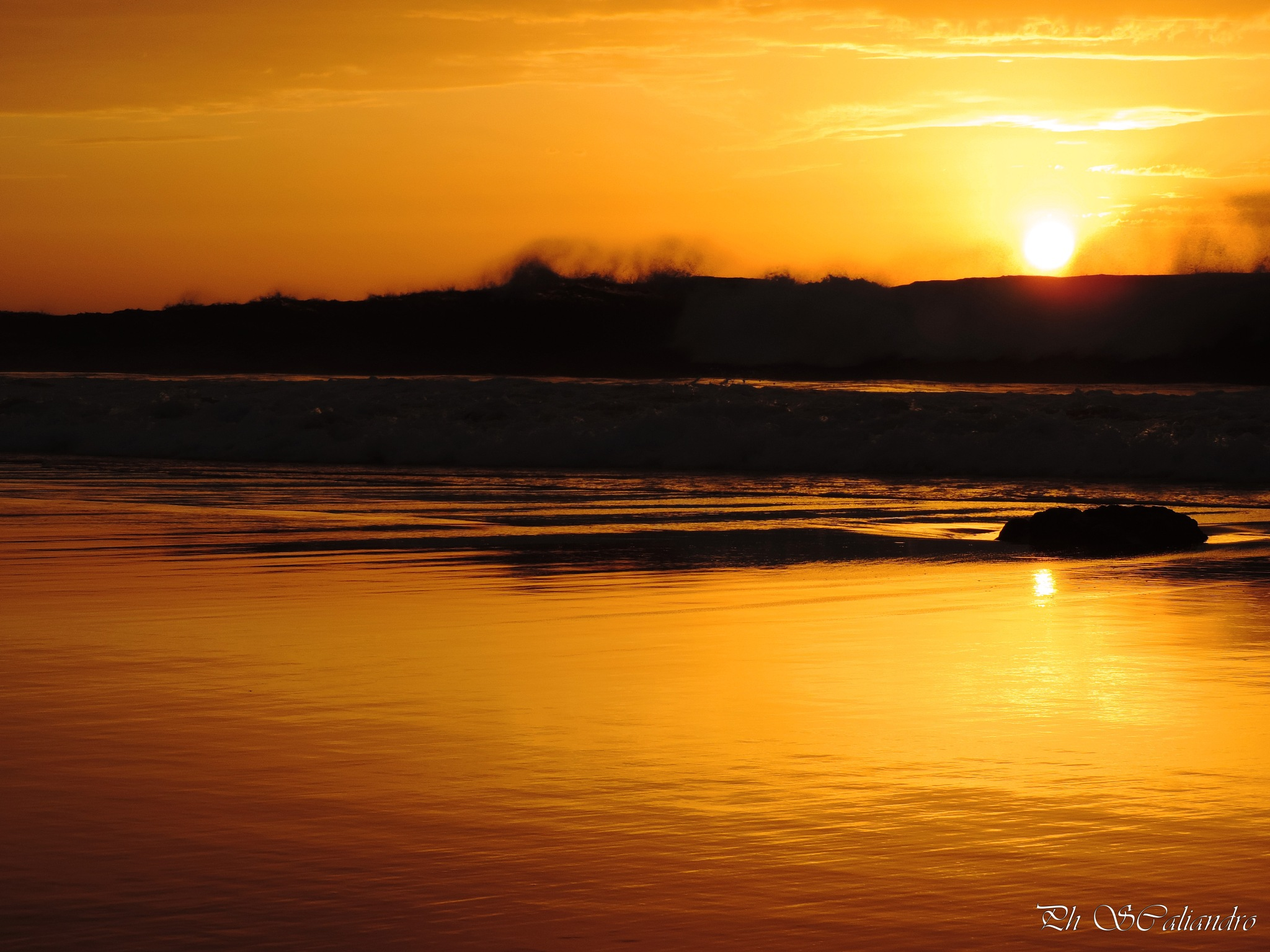 Goodnight sun by Sandra Caliandro