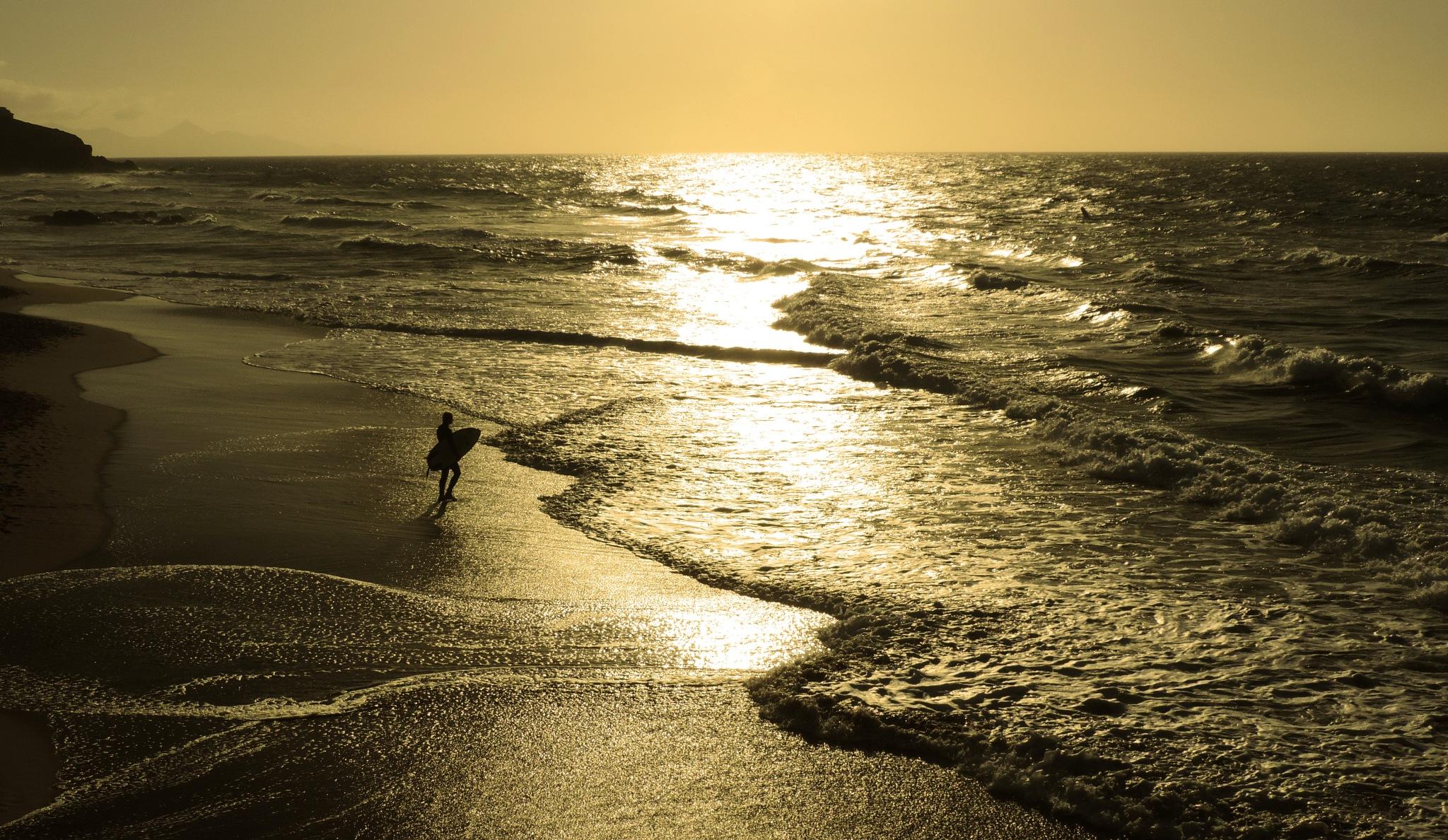Surfing by Sandra Caliandro
