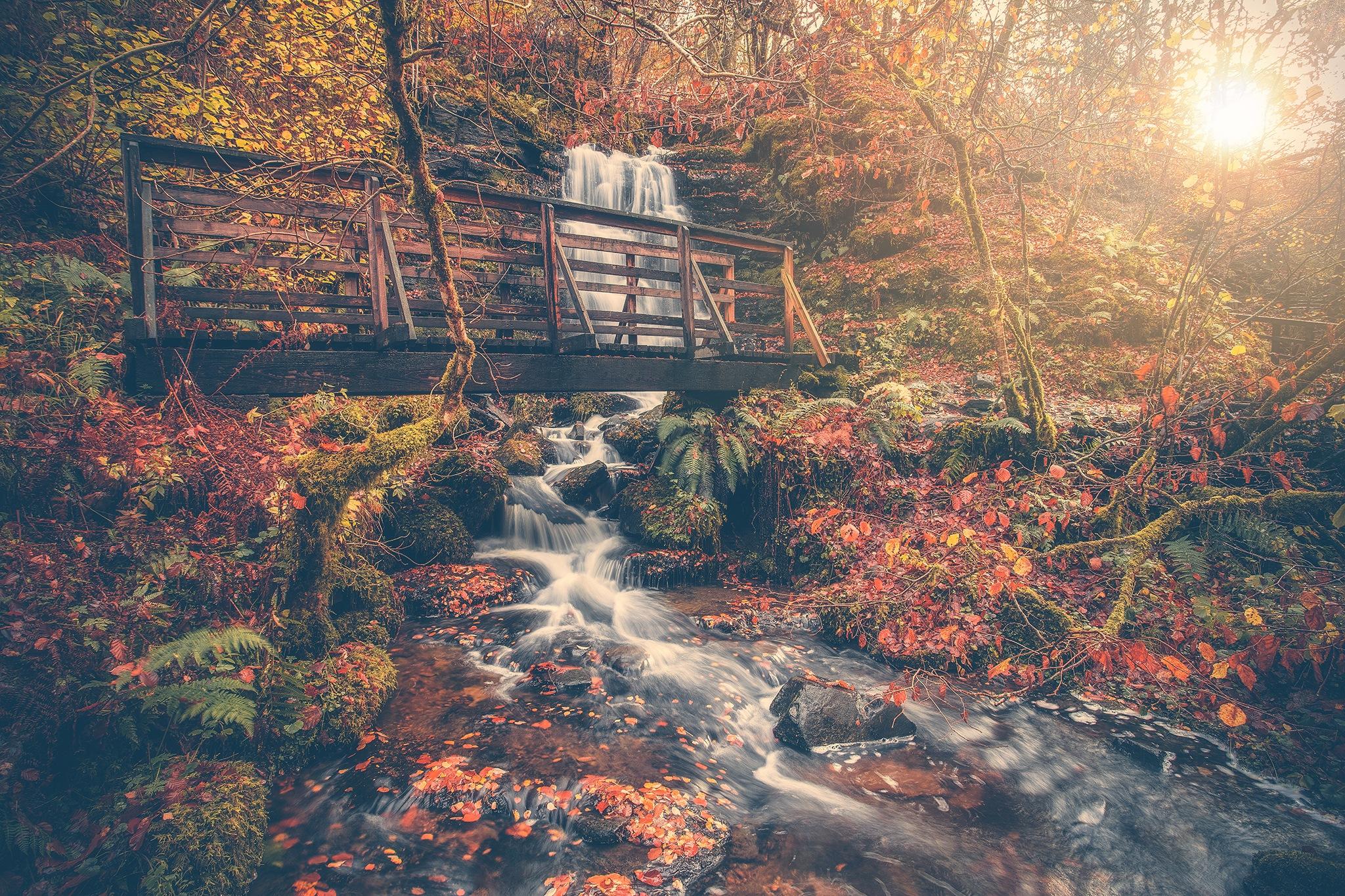 Aberfeldy Falls by Funkmasterdoogan