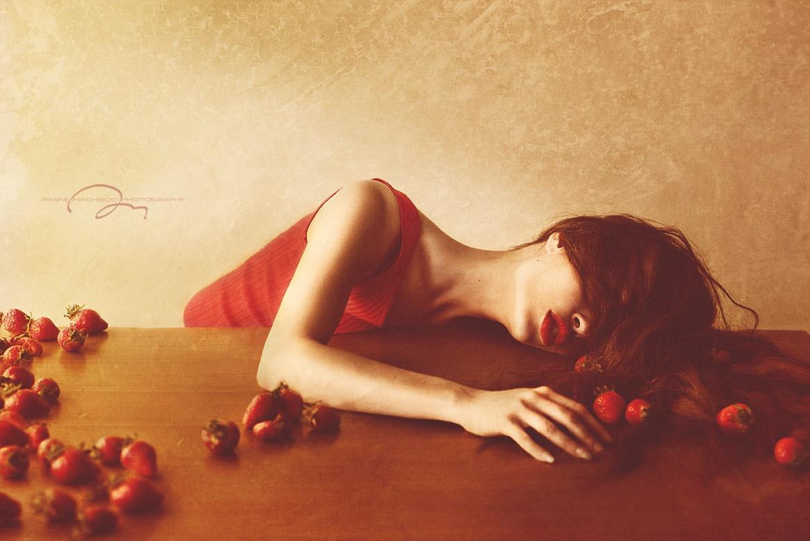 """The very end of Lady Strawberry"" by Janine Machiedo"