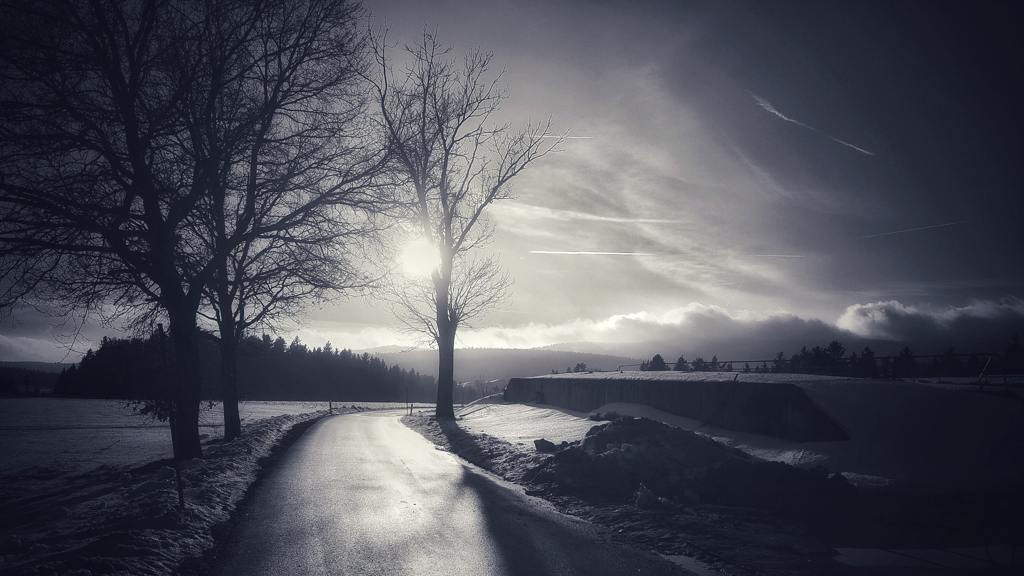 """""""Take me home country roads....."""" by  Jutta"""